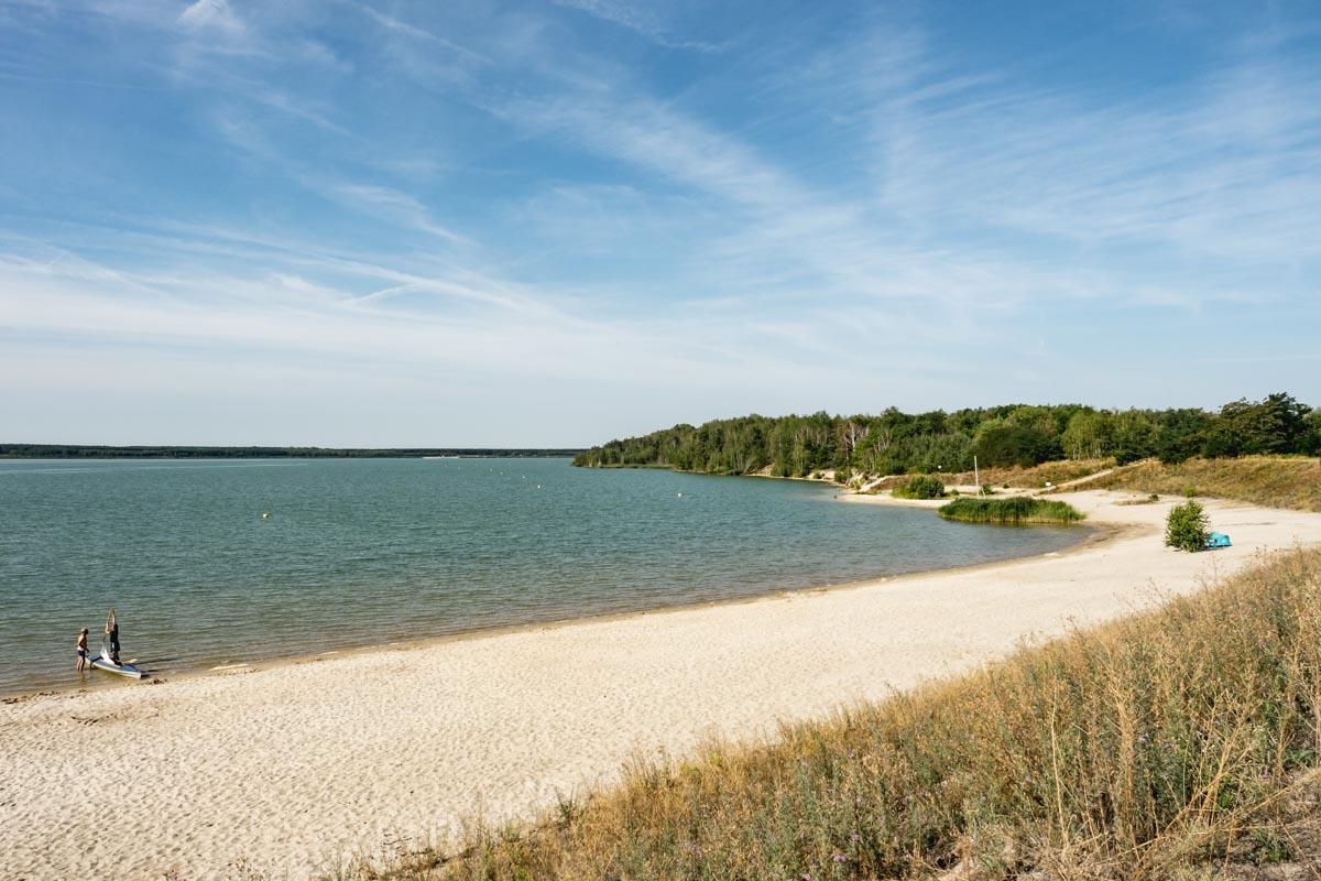 Tipps für die Niederlausitz: Partwitzer See in Brandenburg