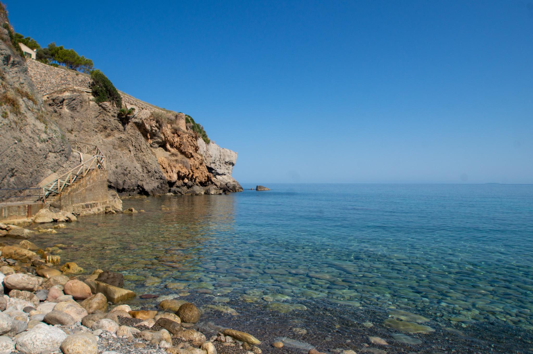 Bucht von Banyalbufar auf Mallorca