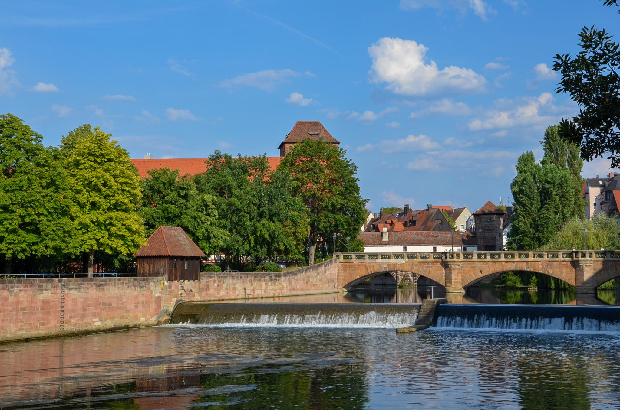 Brücken in Nürnberg gibt es zahlreiche