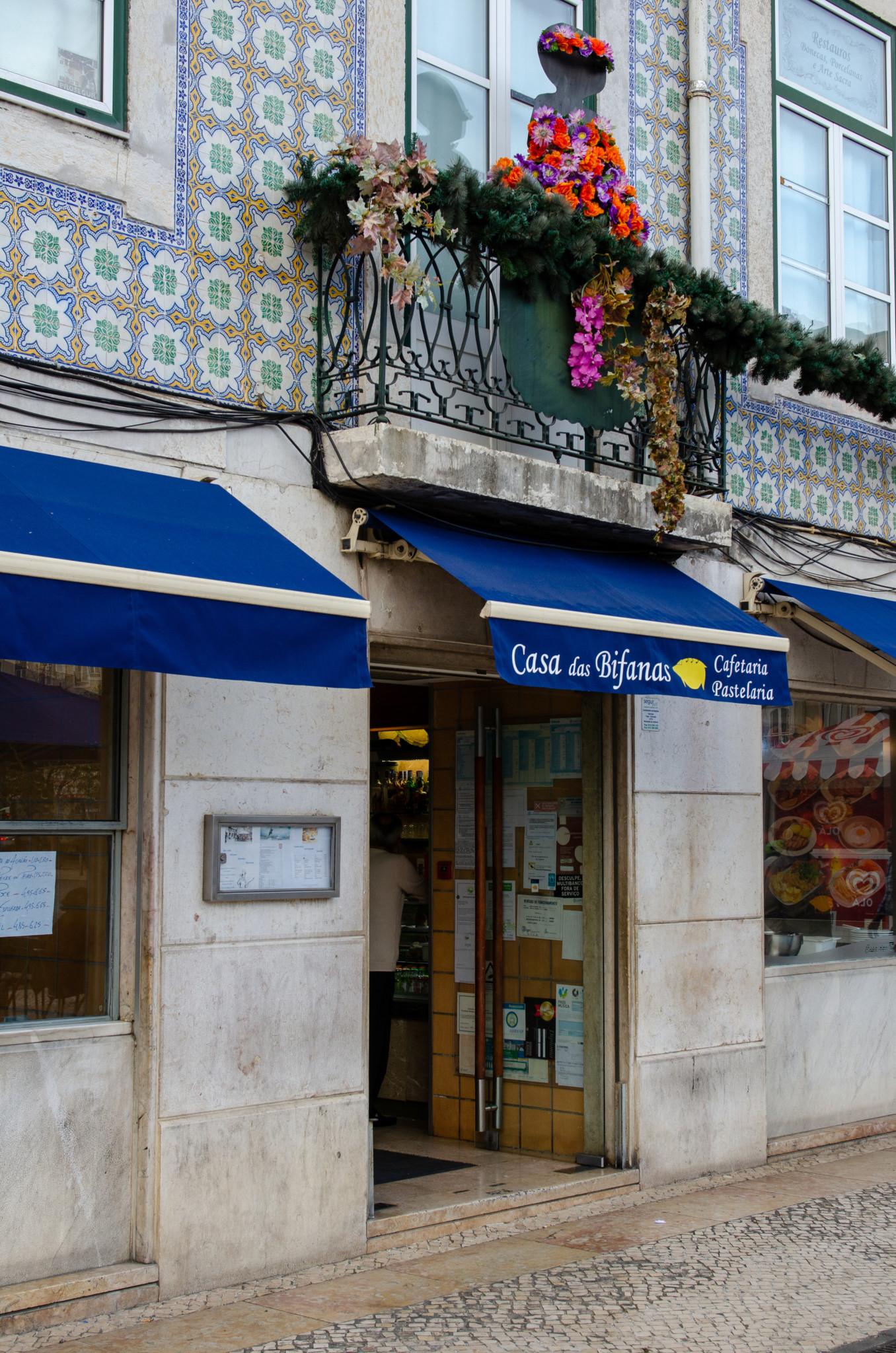 Casa do Bifanas in Lissabon