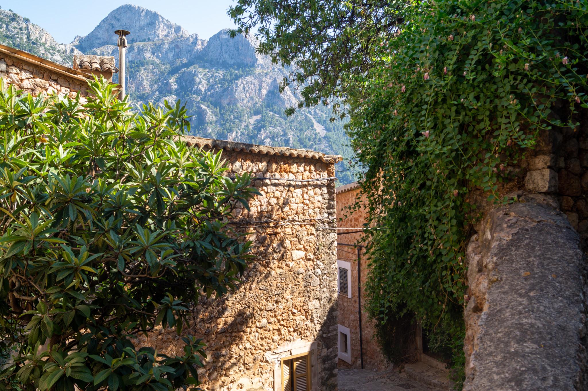 Ausblick auf die Serra de Tramuntana