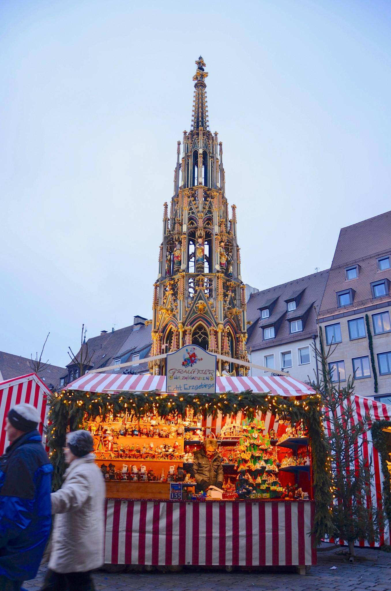 Romantik auf dem Nürnberger Weihnachtsmarkt