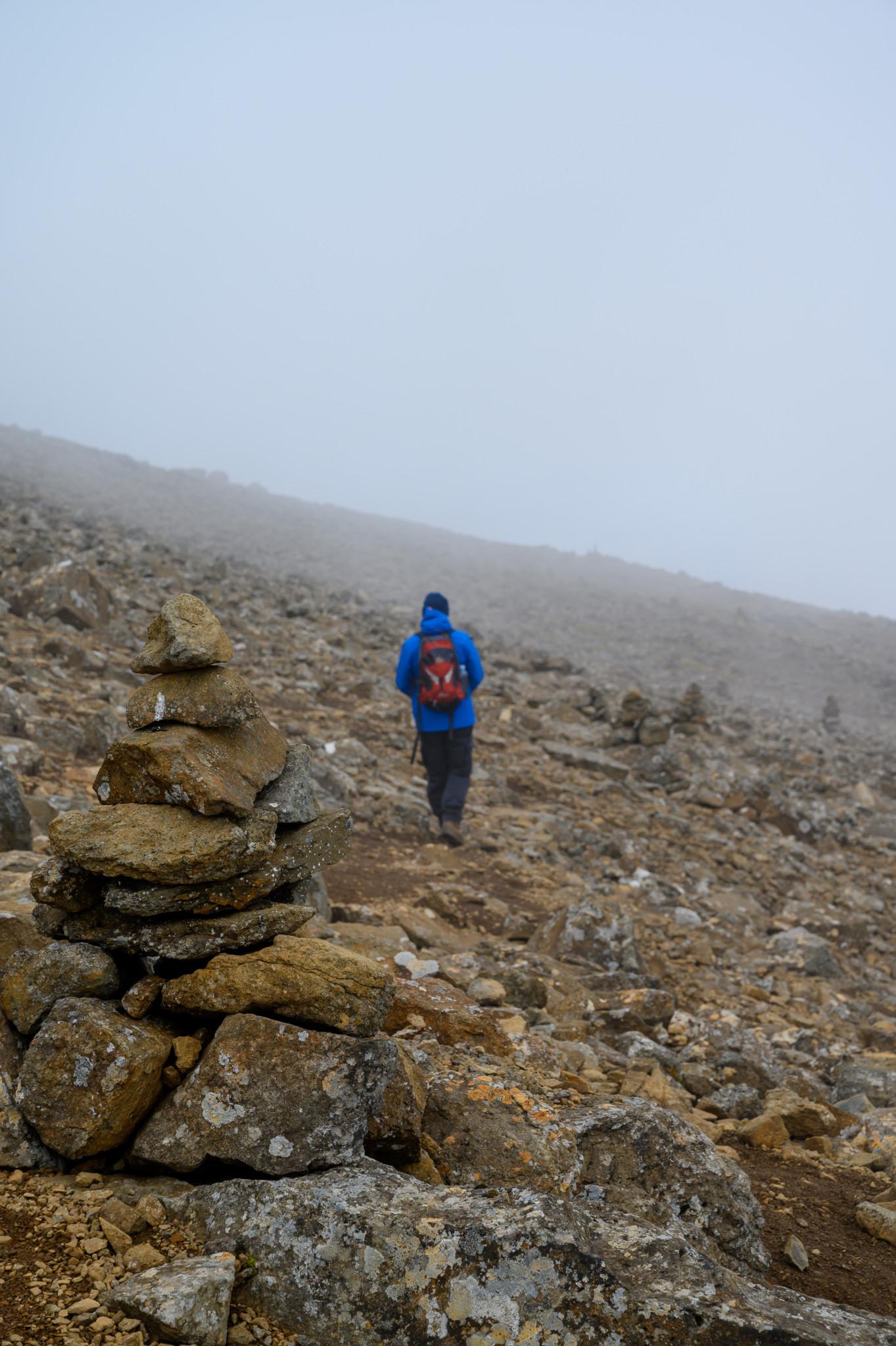 Enniberg Wanderung auf den Färöer Inseln