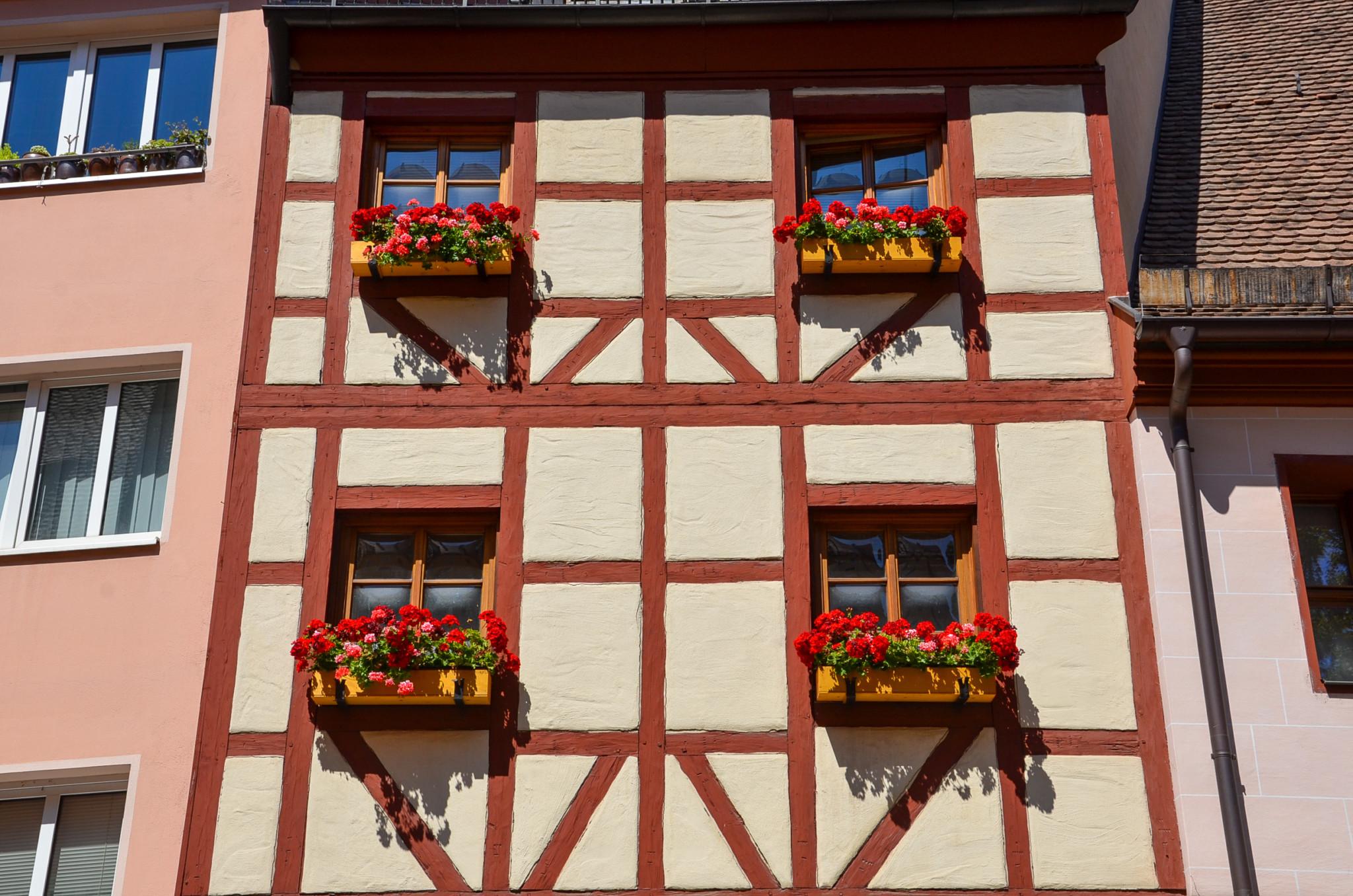 Fachwerkhäuser gehören zum Stadtbild