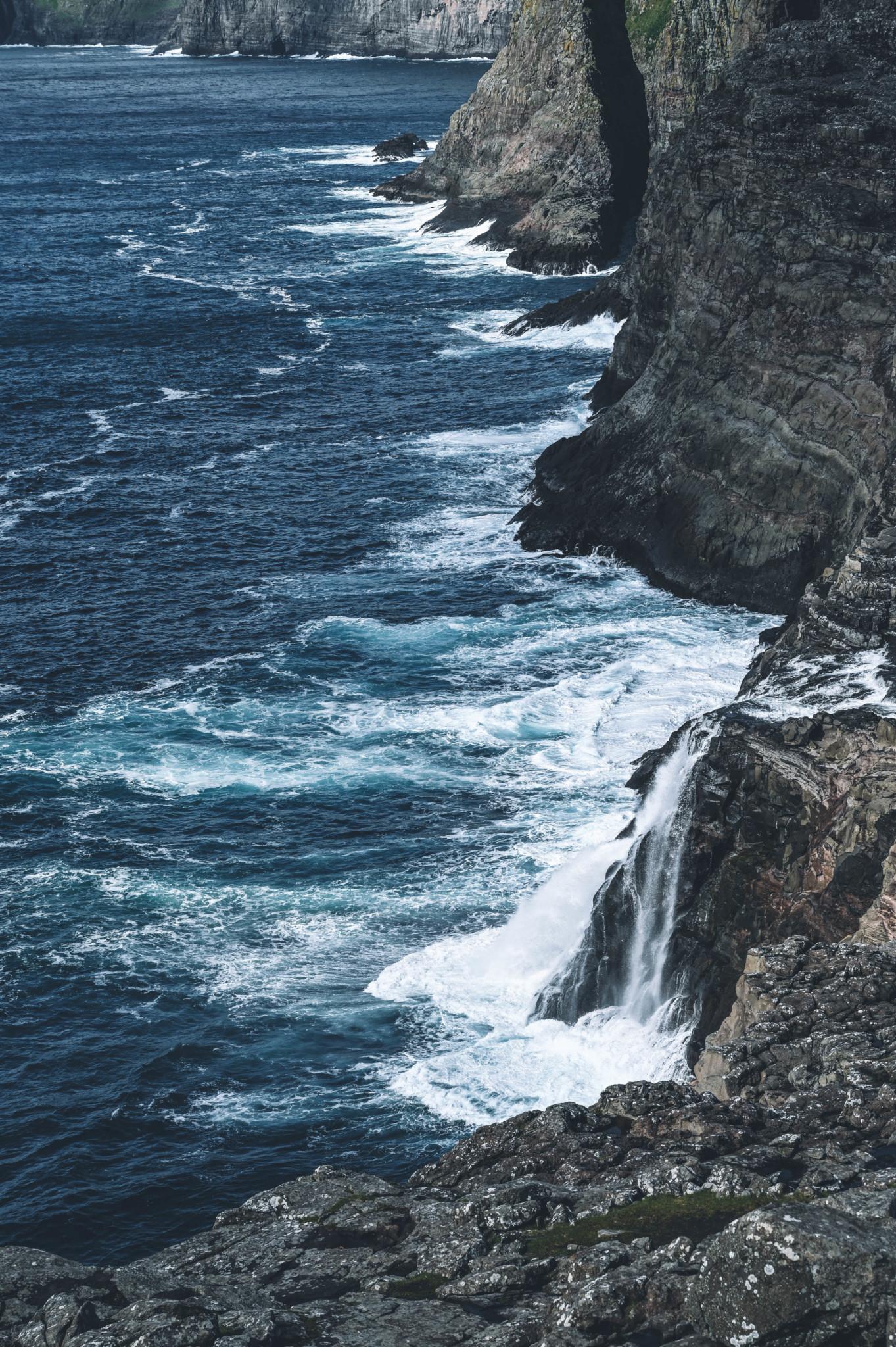Meer gibt es auf den Färöer überall