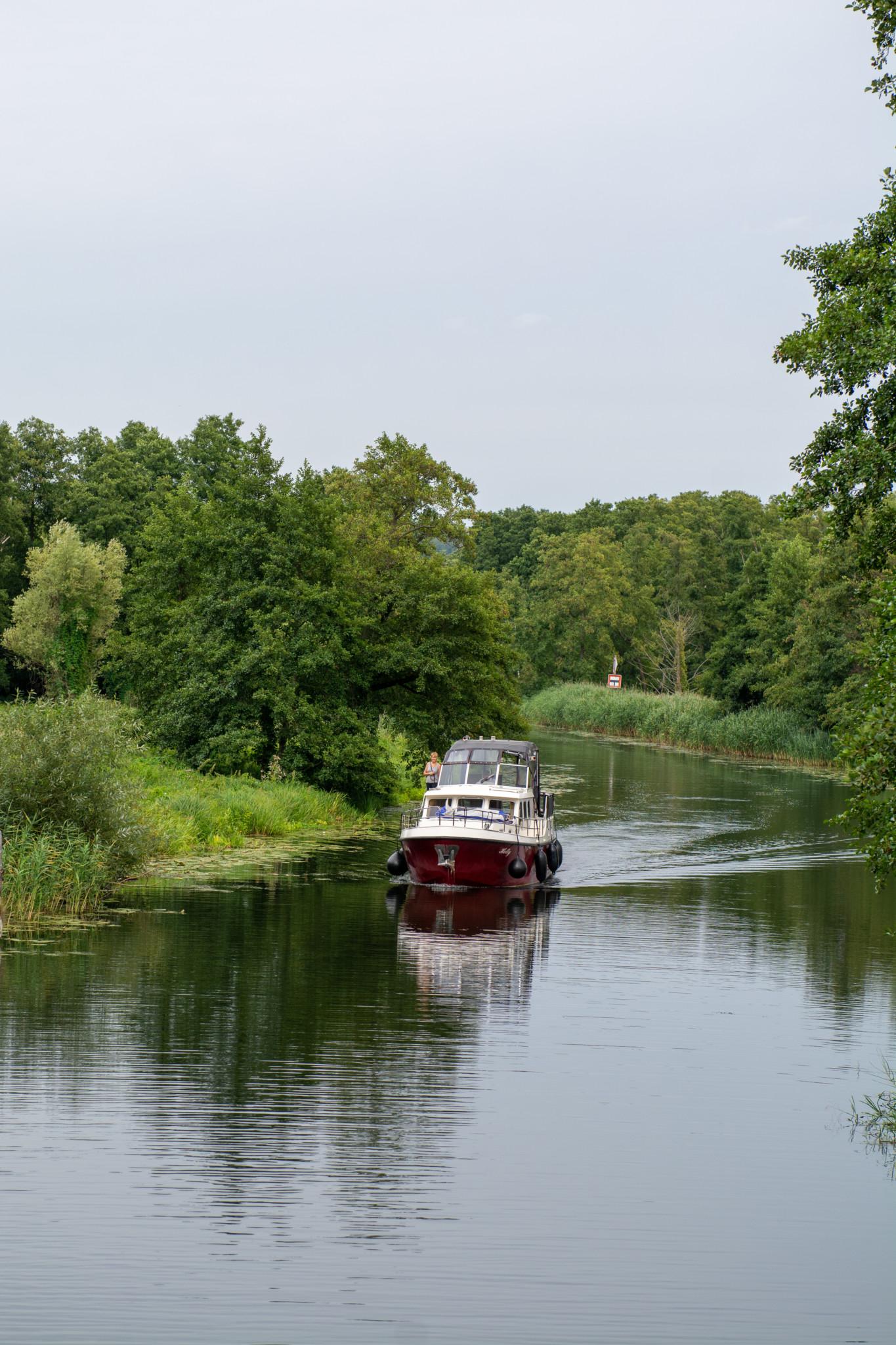 Finowkanal in Brandenburg