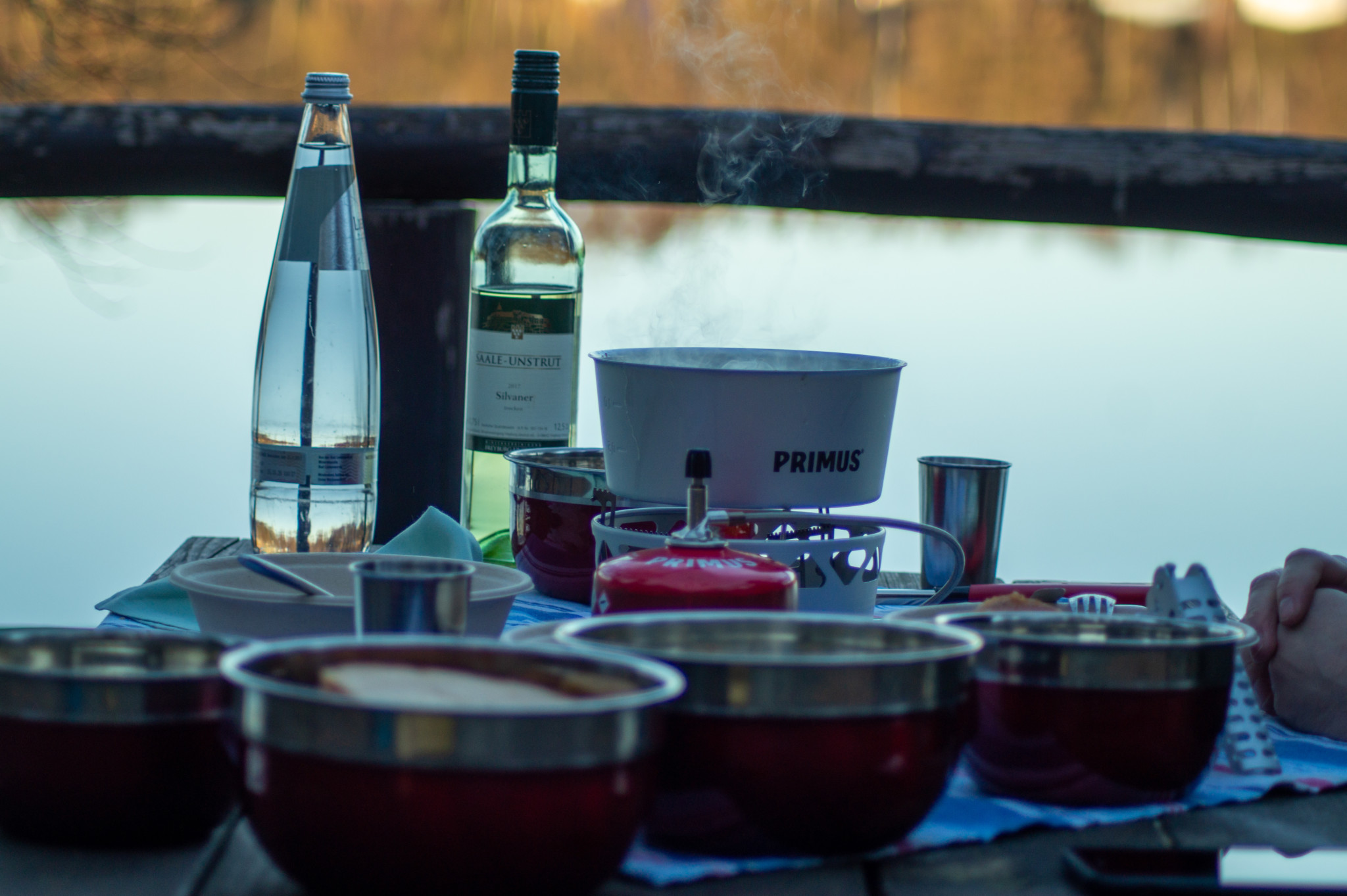 Fonduewandern am Wolletzsee