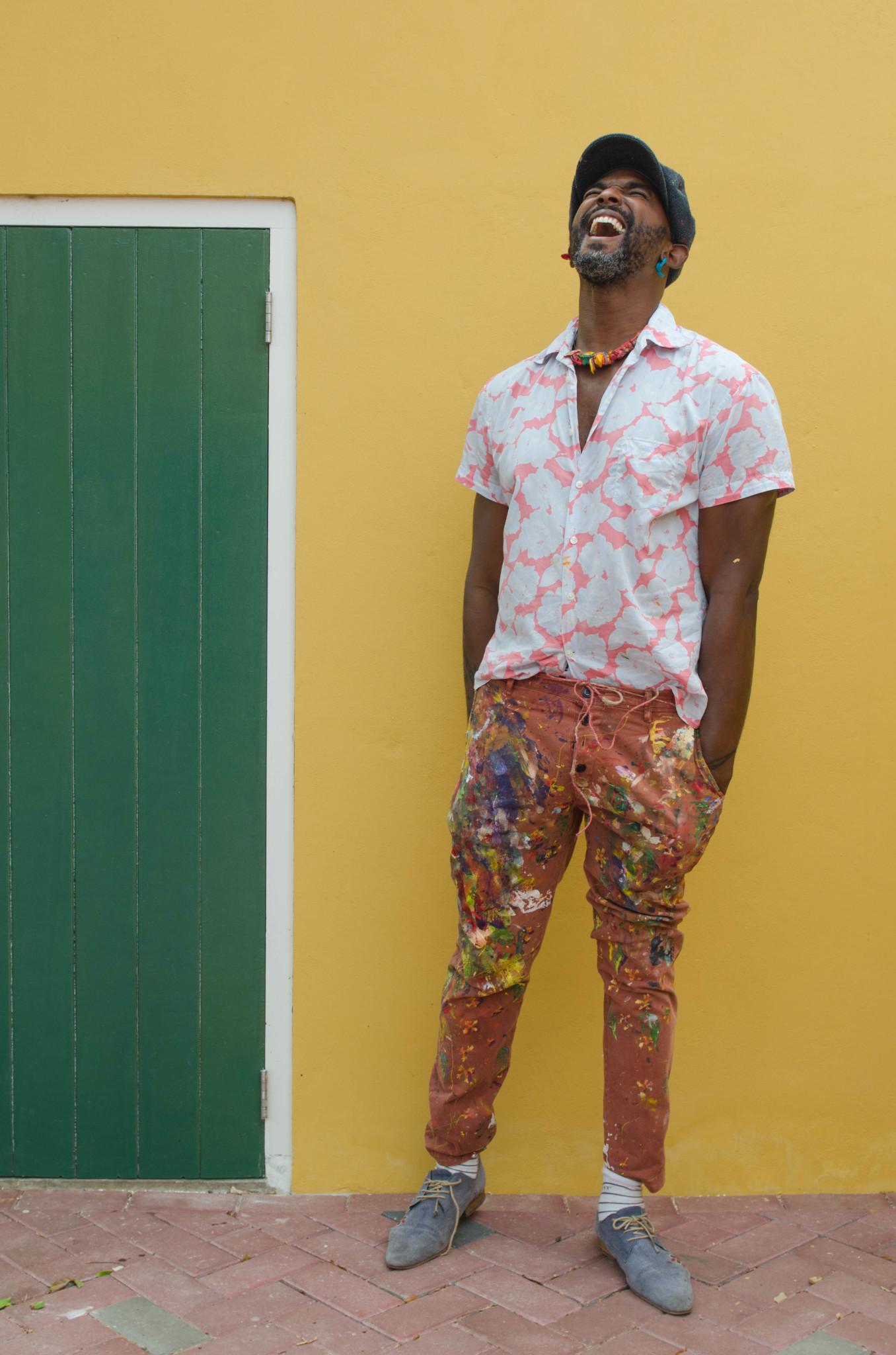 Francis Sling Künstler auf Curacao