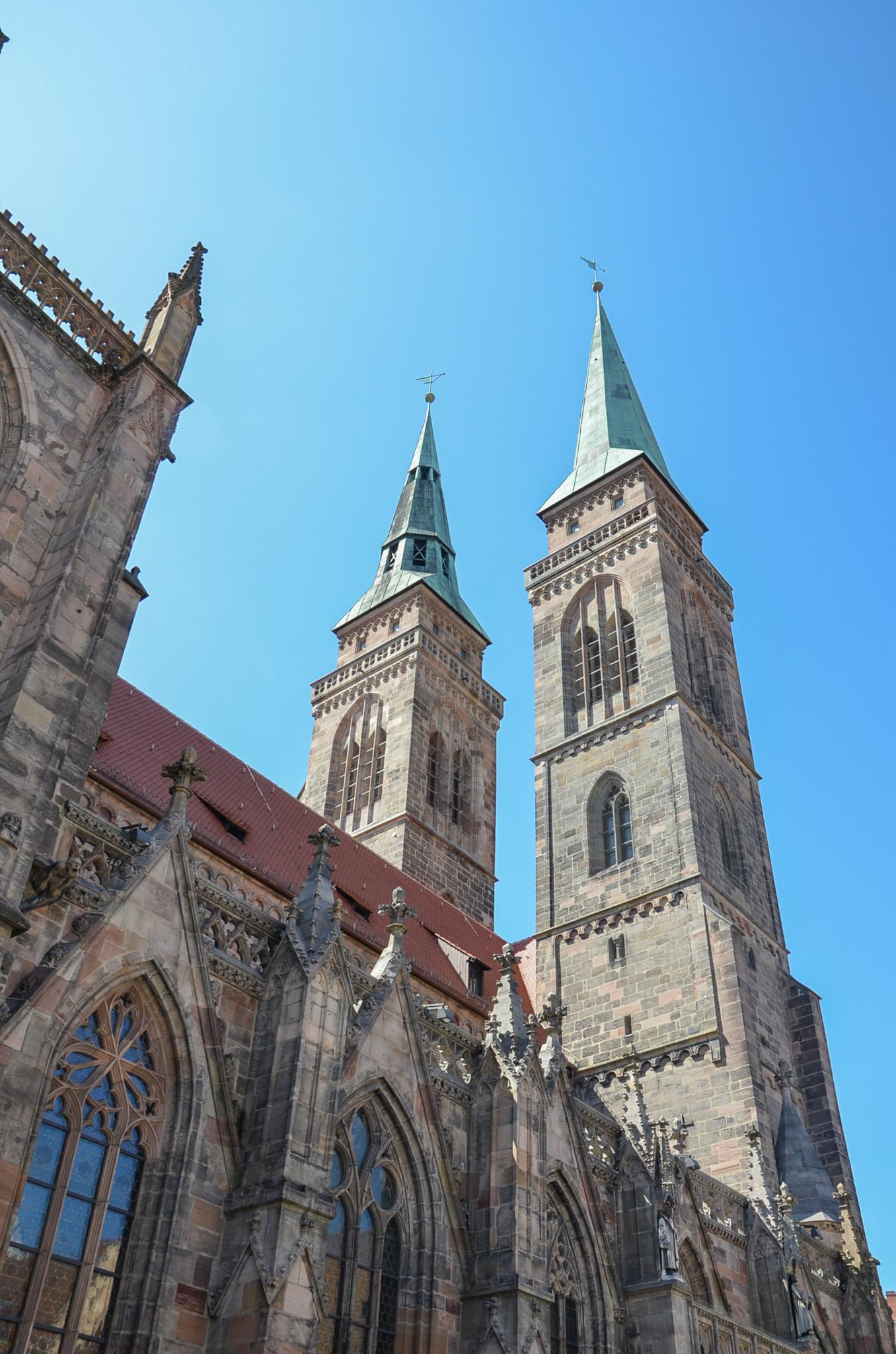 Wichtige Nürnberg Sehenswürdigkeit: Frauenkirche