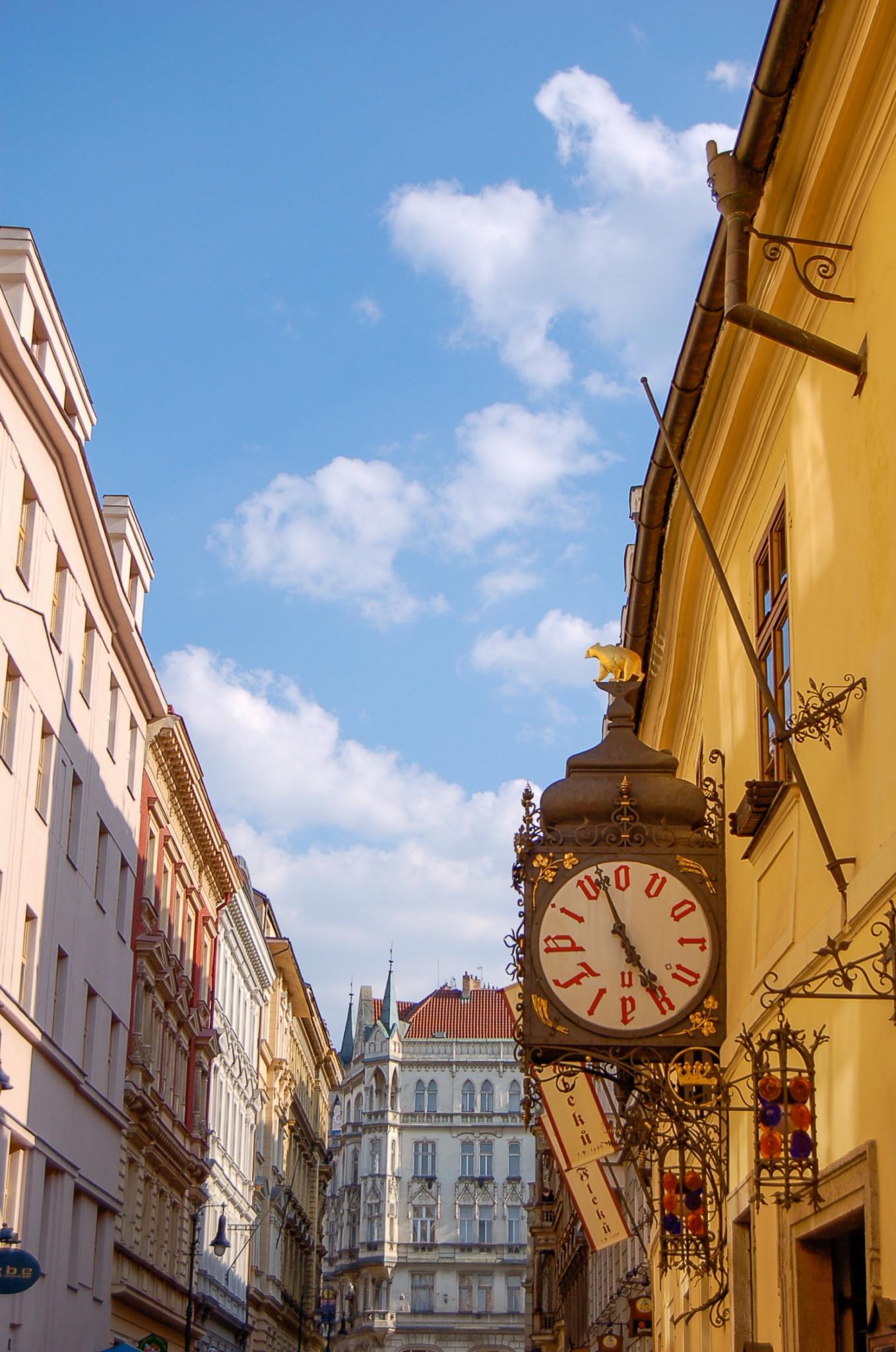 Gassen in der Altstadt von Prag