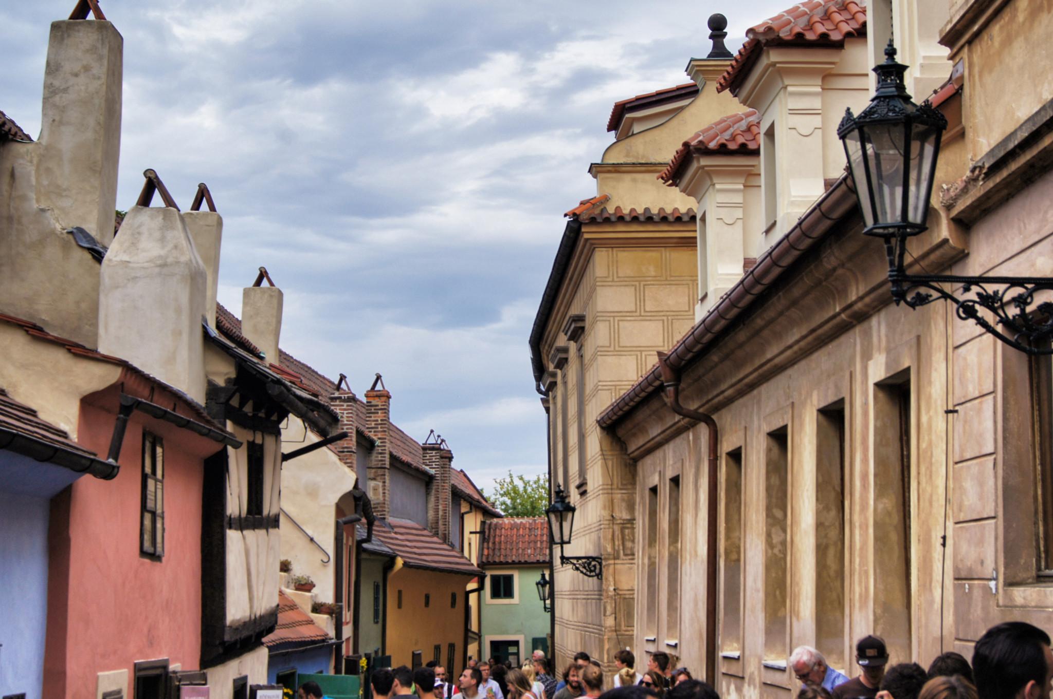 Goldgasse an der Prager Burg