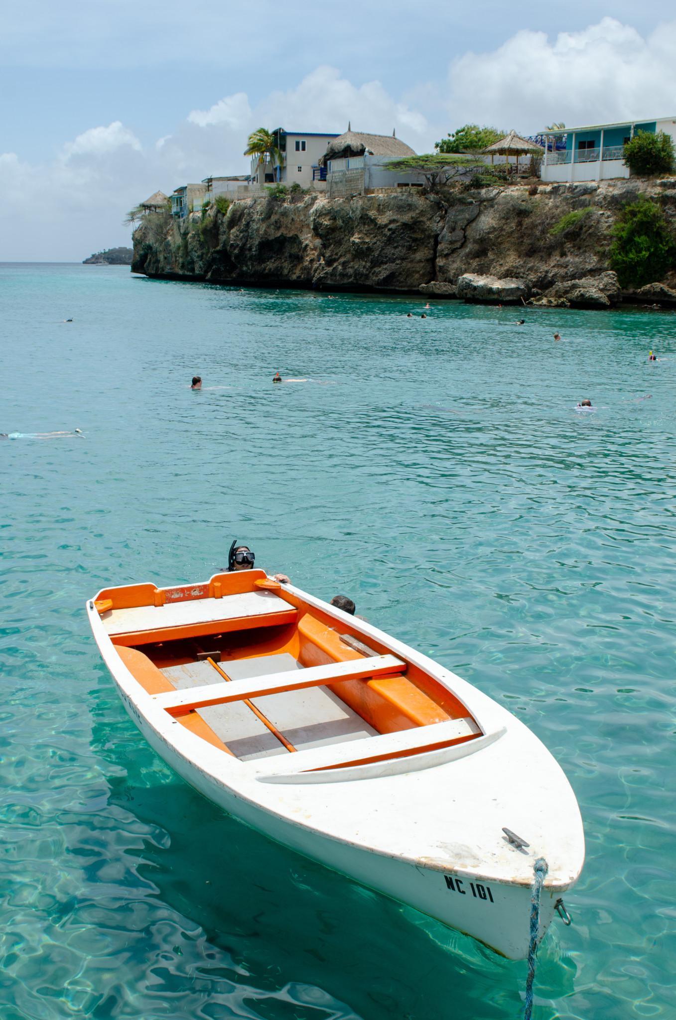 Am Playa Piskado auf Curacao kann man gut schnorcheln