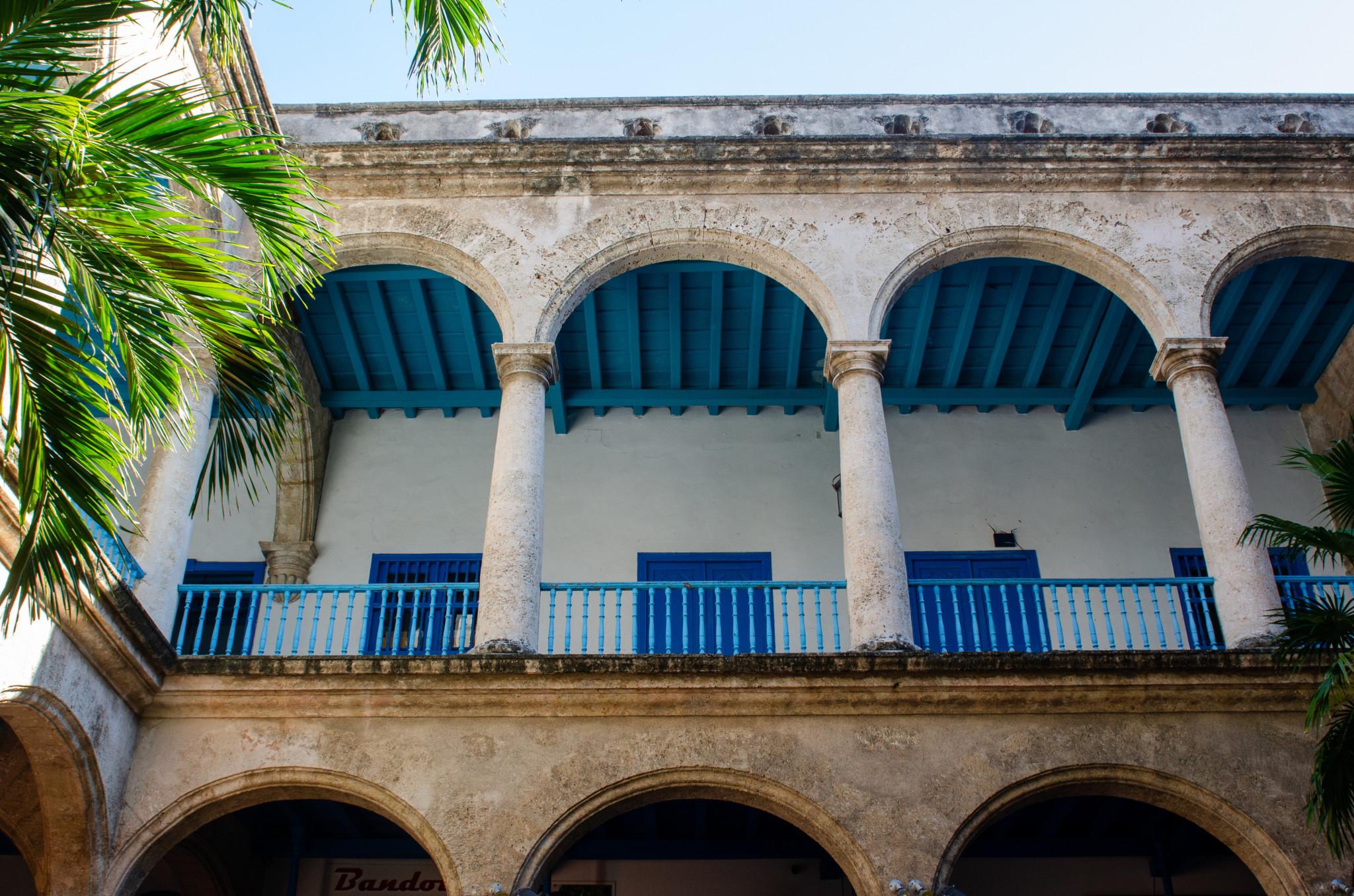 Kubanischer Innenhof