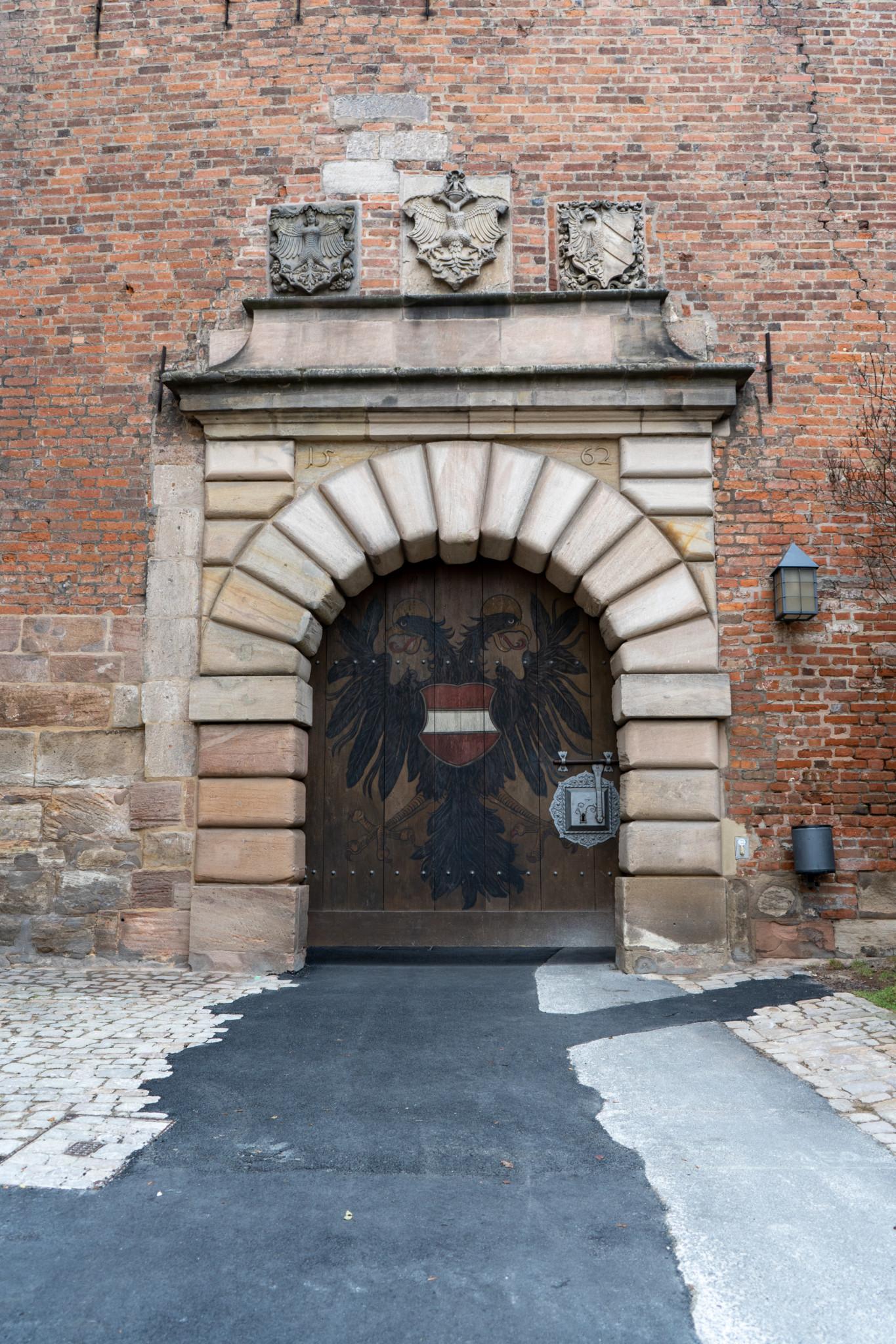 Tor in der Kaiserburg