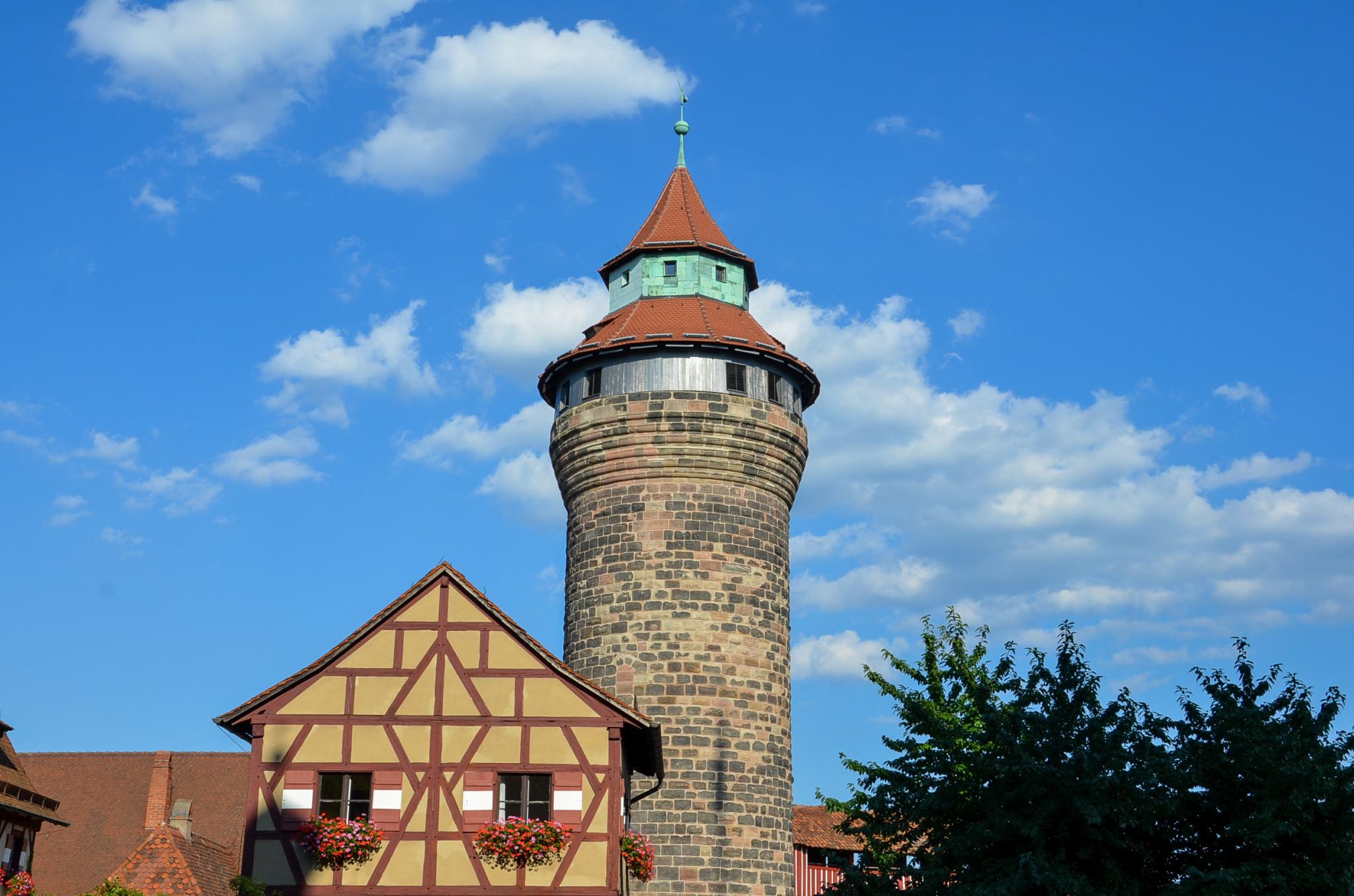 Zu den Nürnberg Sehenswürdigkeiten gehört auch die Kaiserburg