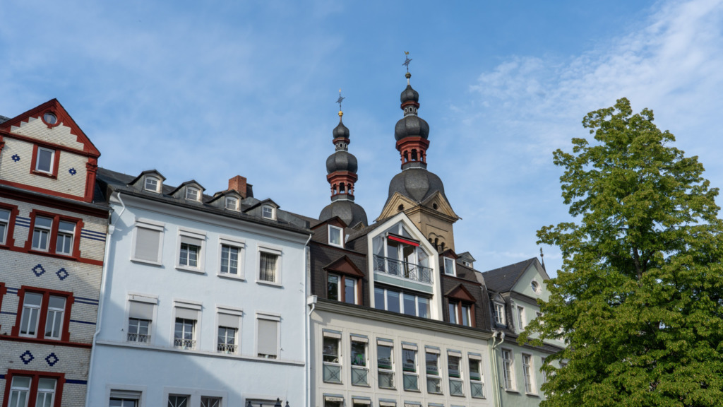 Zu den Koblenz Sehenswürdigkeiten gehört auch die Altstadt