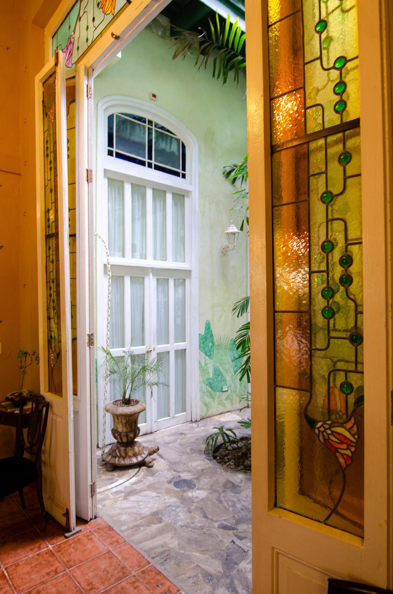 Architektur einer Casa Particular in Kuba