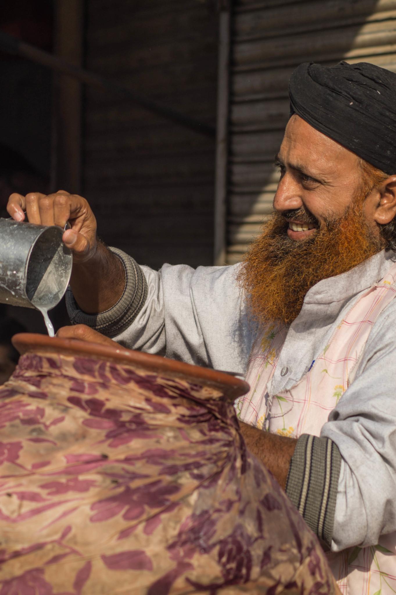 Lassi in der Altstadt von Lahore