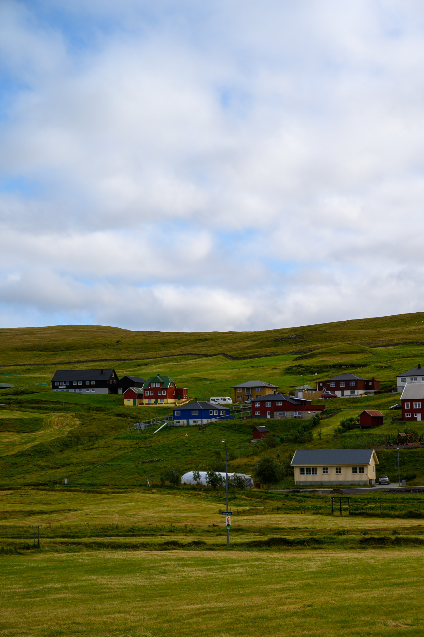 Gjøgv auf den Färöer