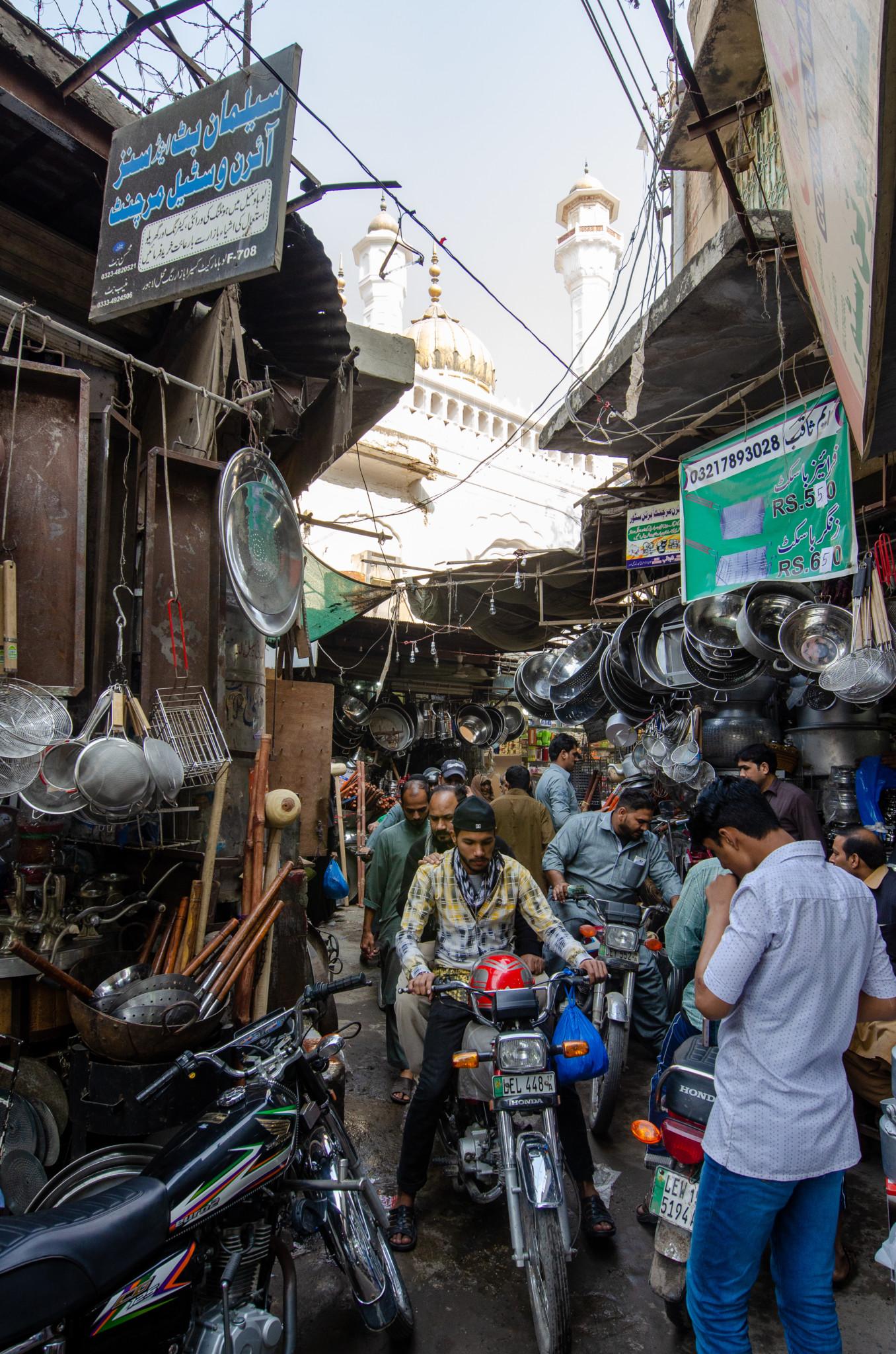 Gasse in der Altstadt von Lahore