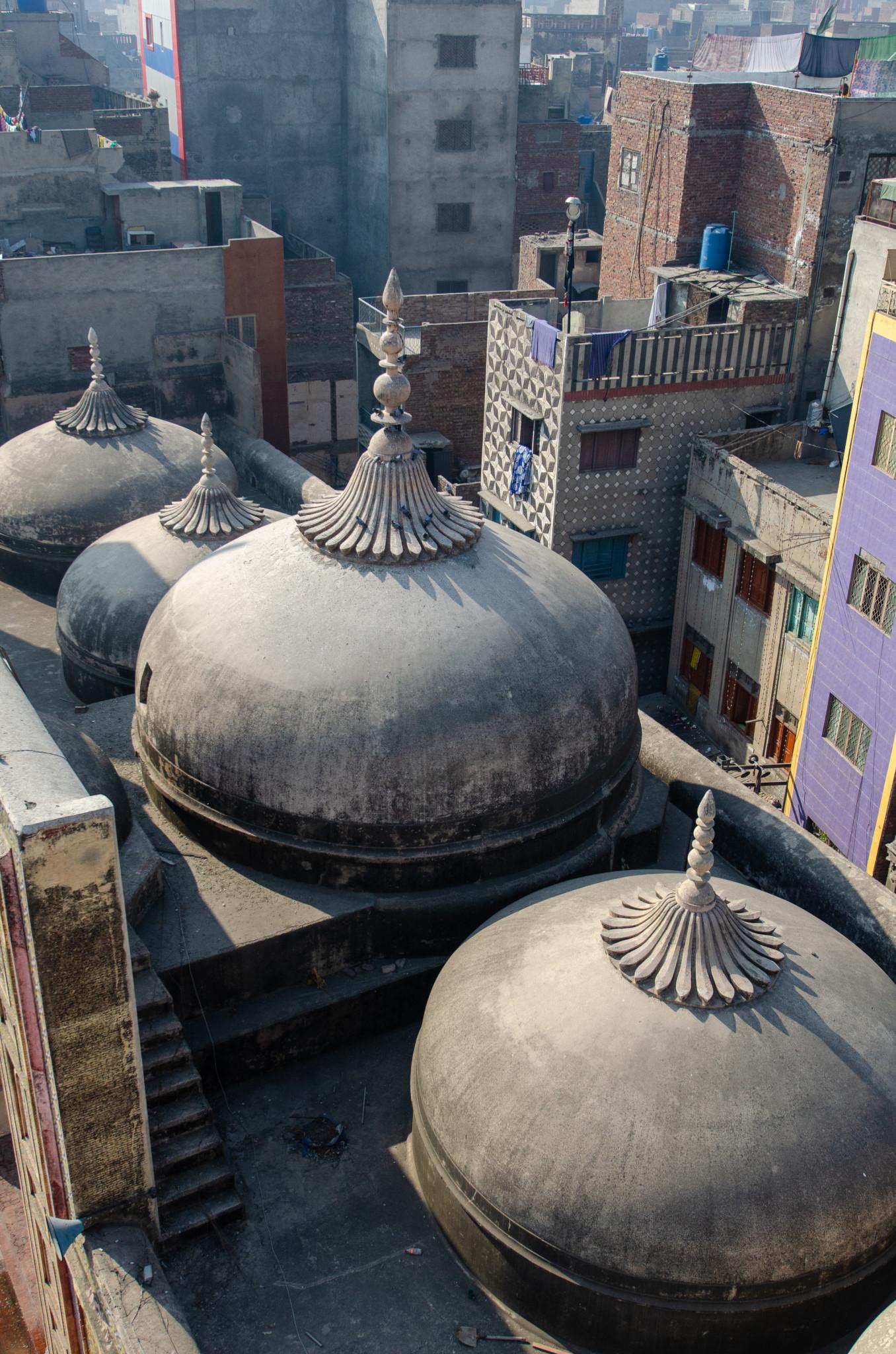 Kuppel der Wazir Khan Moschee