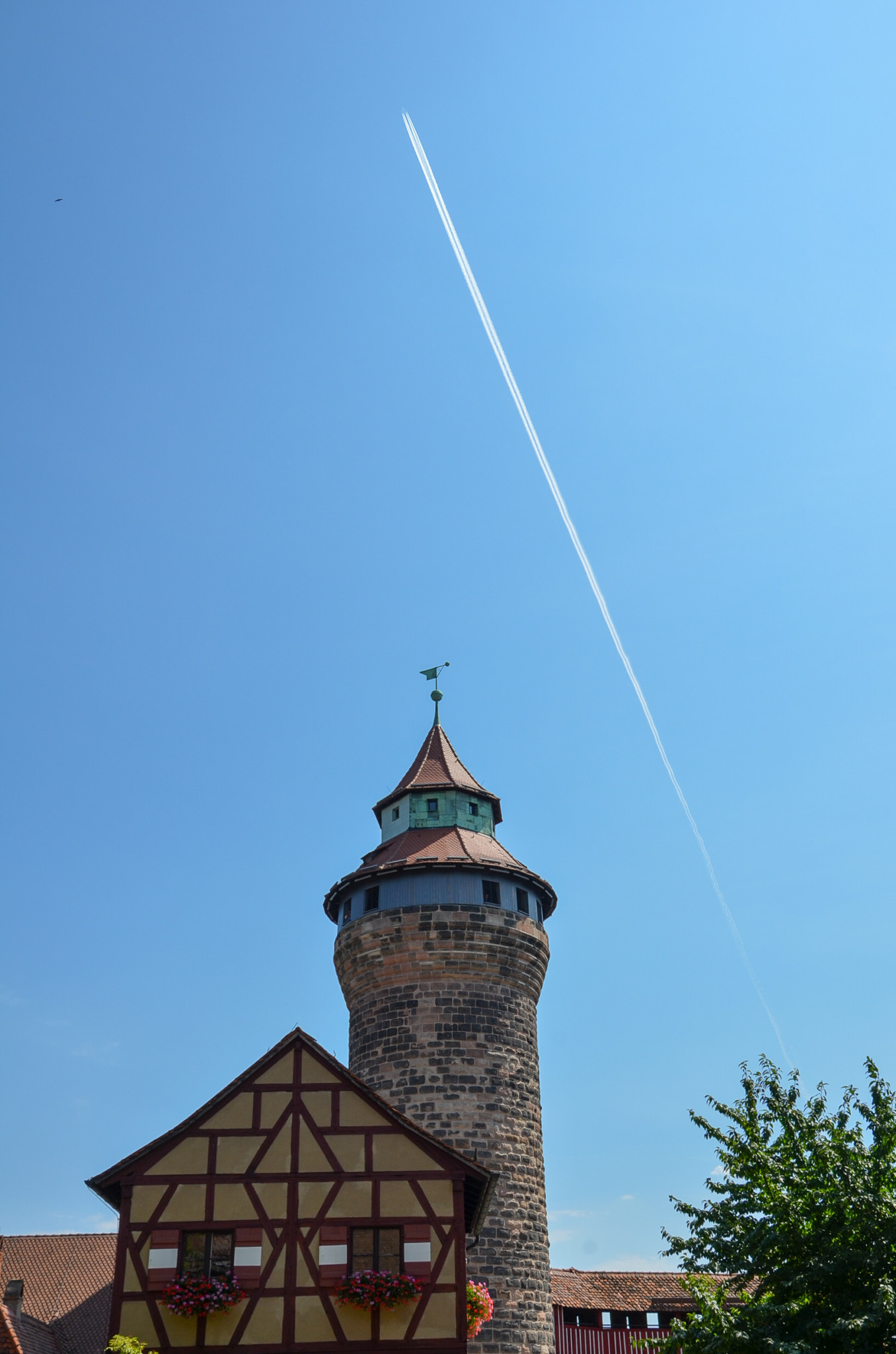 Turm in der Kaiserburg