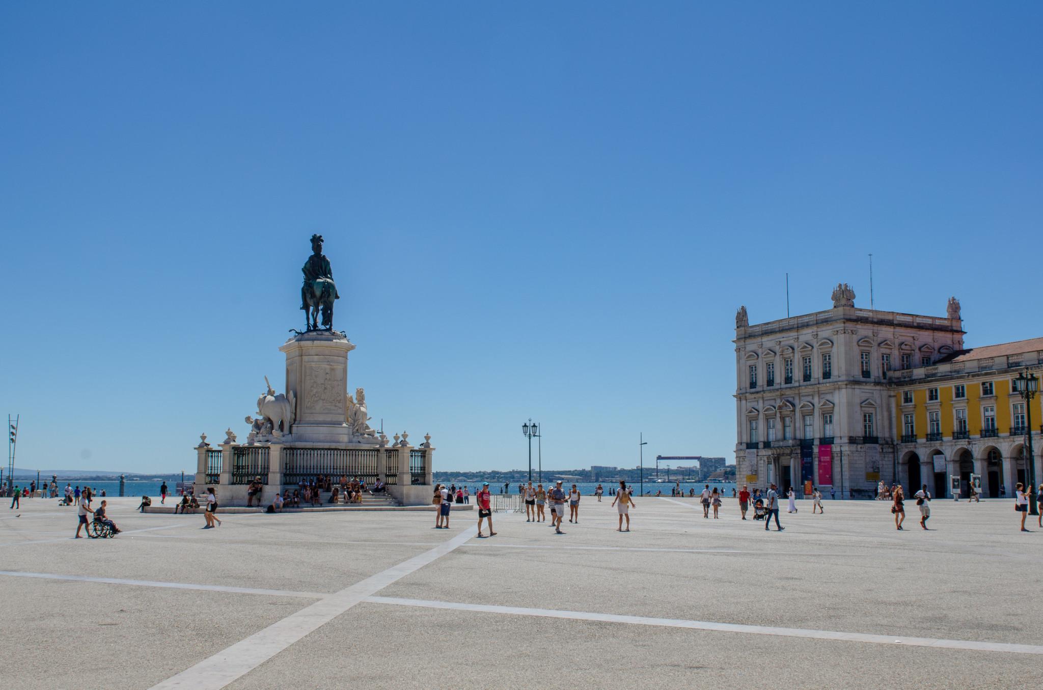 Praça do Comércio in Lissabon