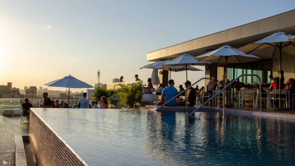 Dachterrasse vom Kempinski Hotel in Havanna