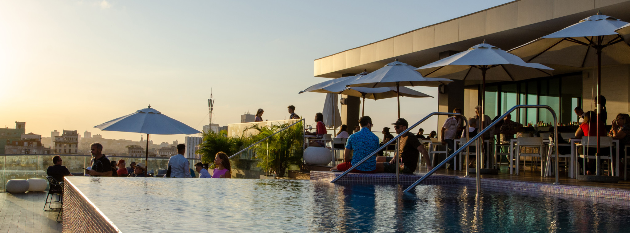 Dachterrasse Kempinski Hotel Havanna