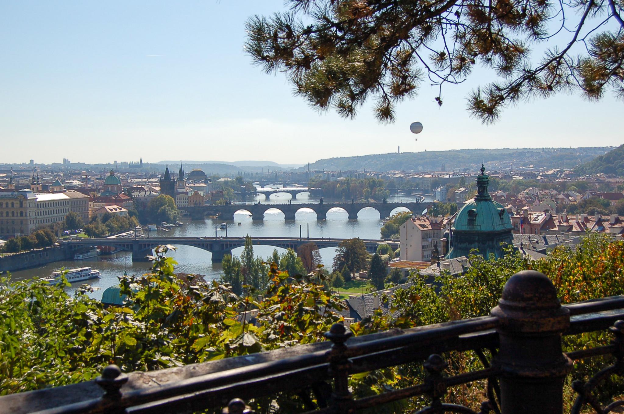 Ausblick von der Prager Burg