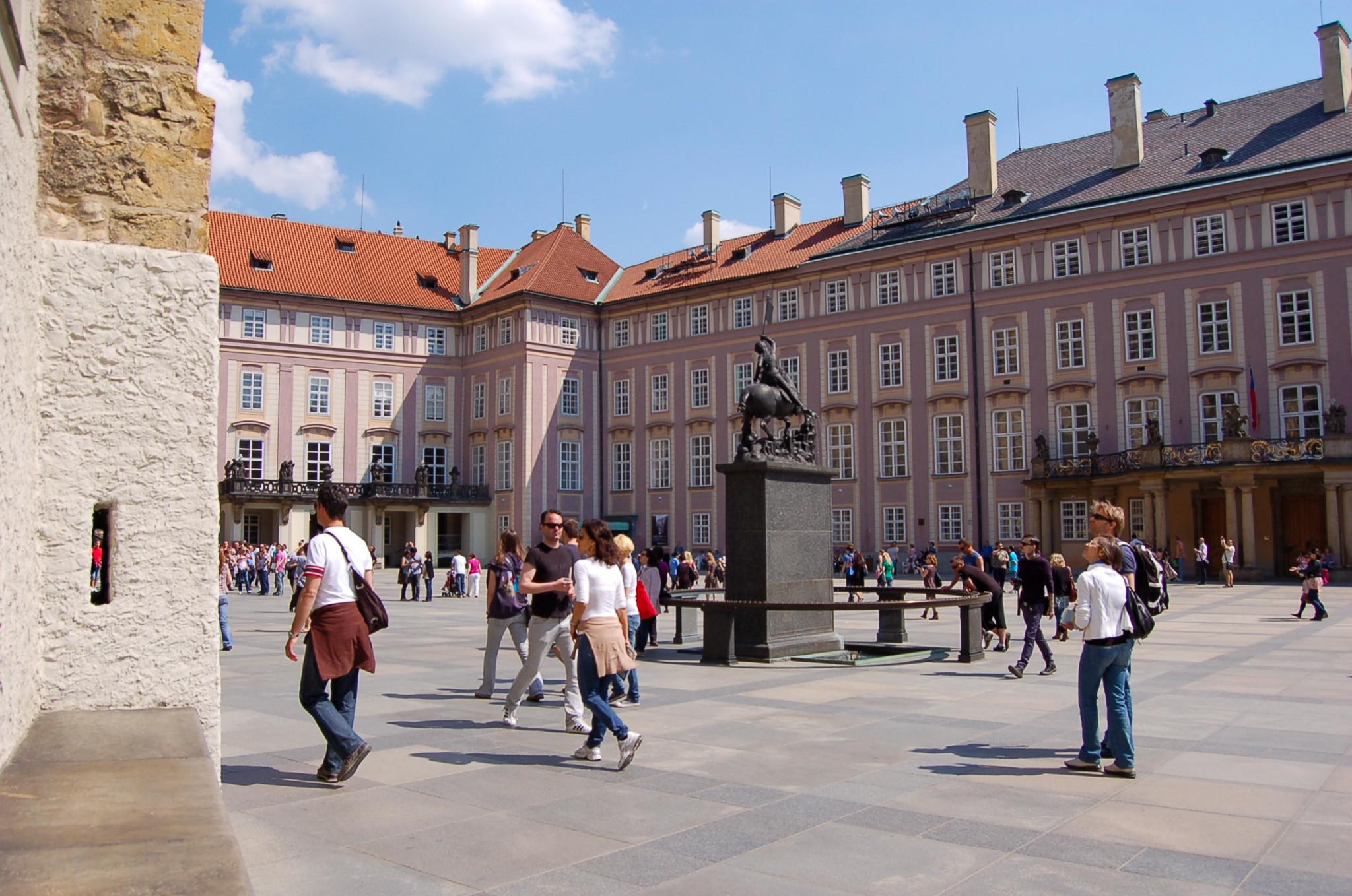 Besichtigung der Prager Burg