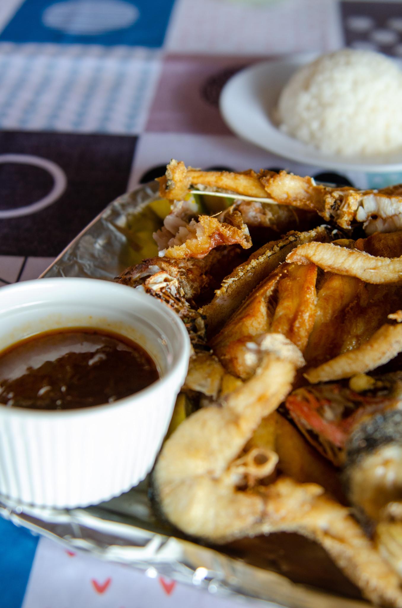 Fischrestaurant auf Curacao