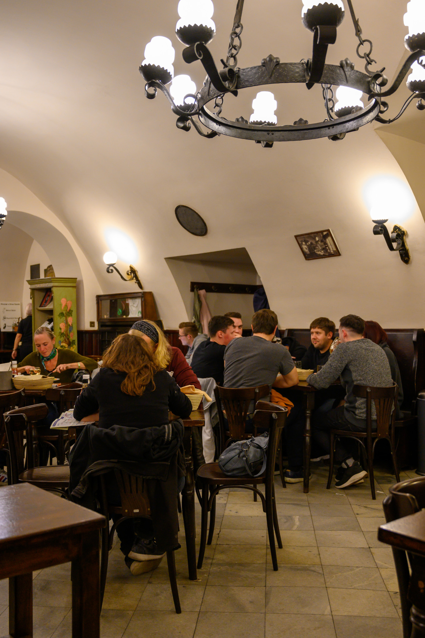 Uriges Restaurant in Prag