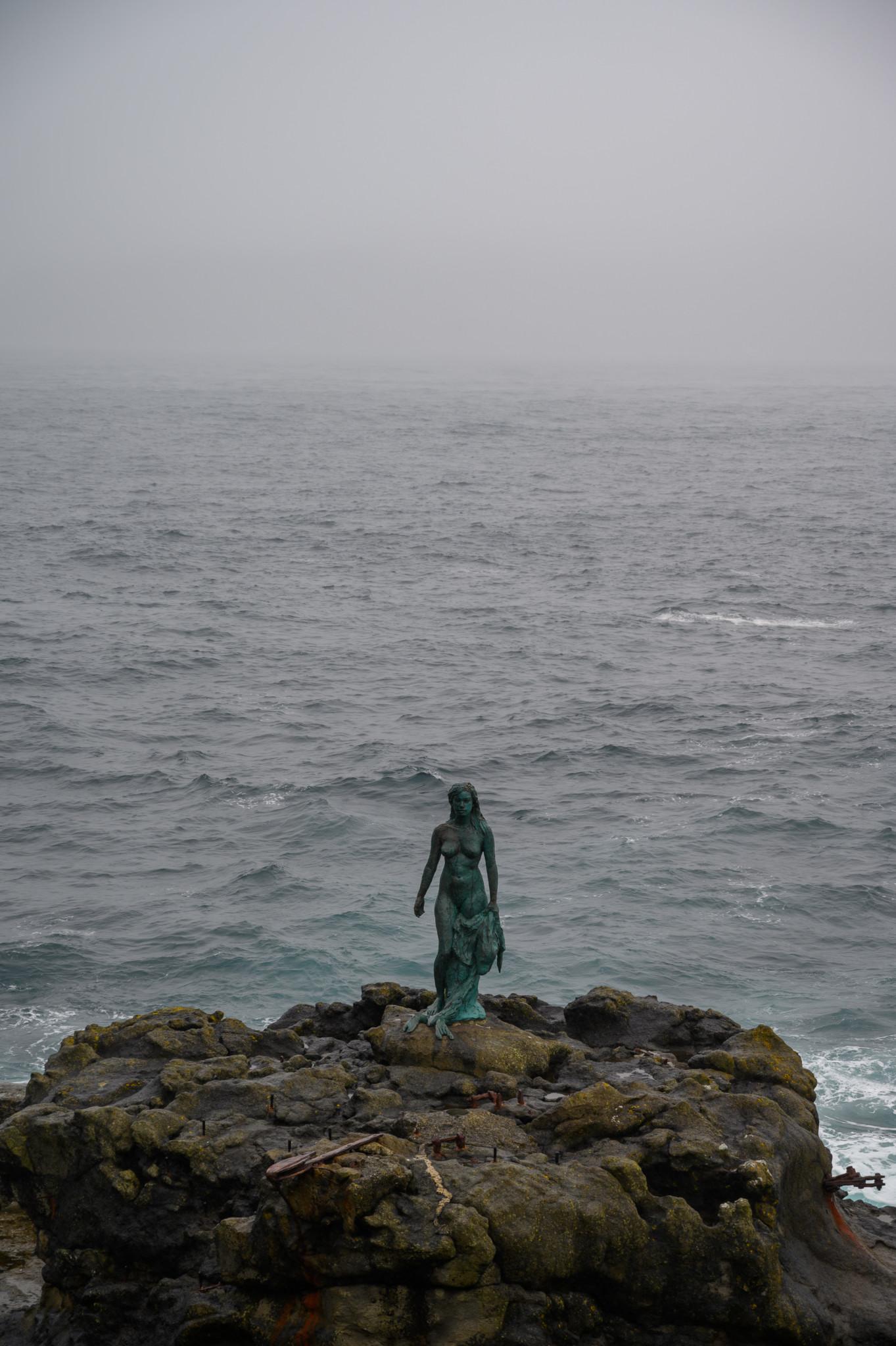 Robbenfrau auf Kalsoy