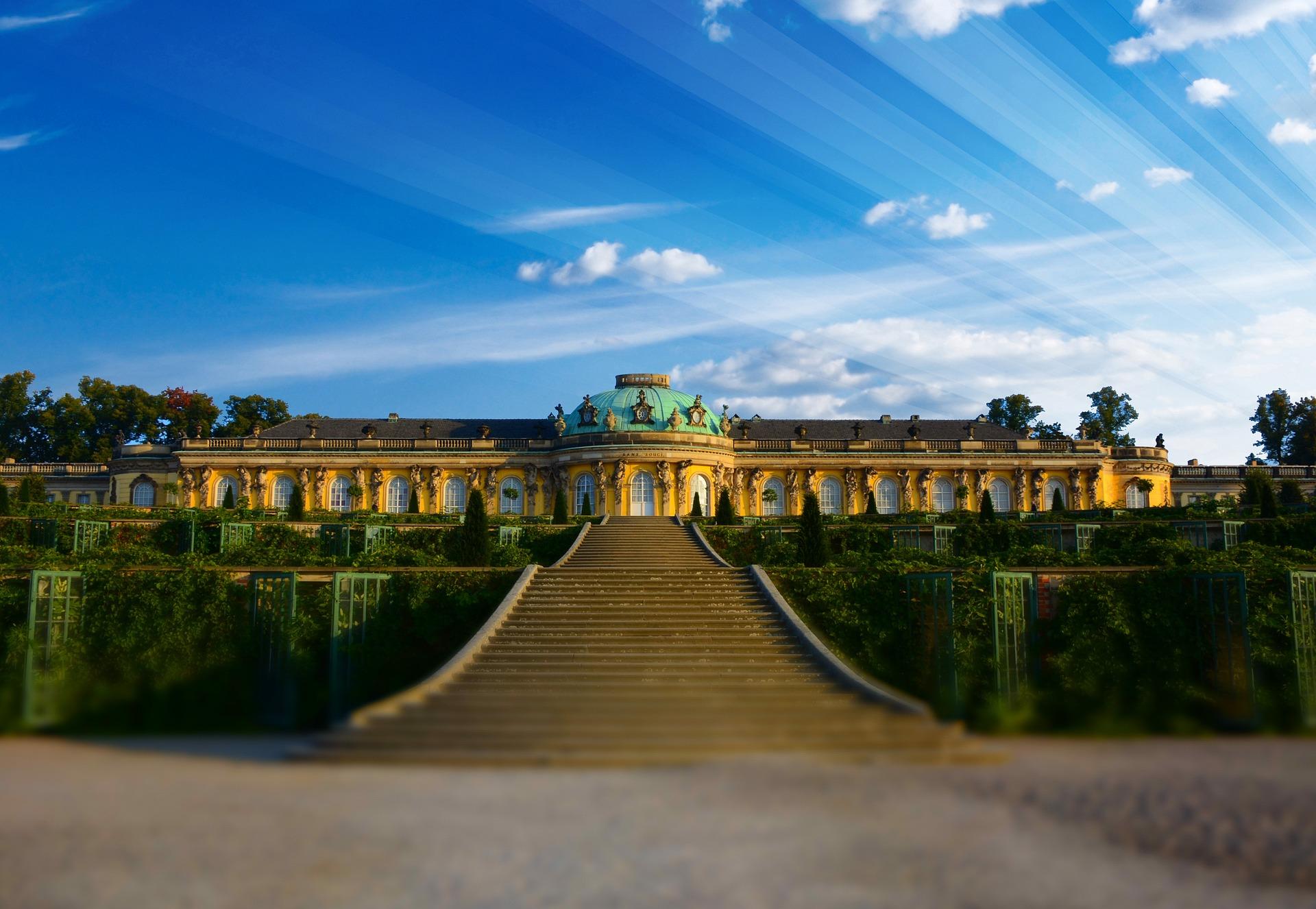 Schloss Sanssouci in Brandenburg