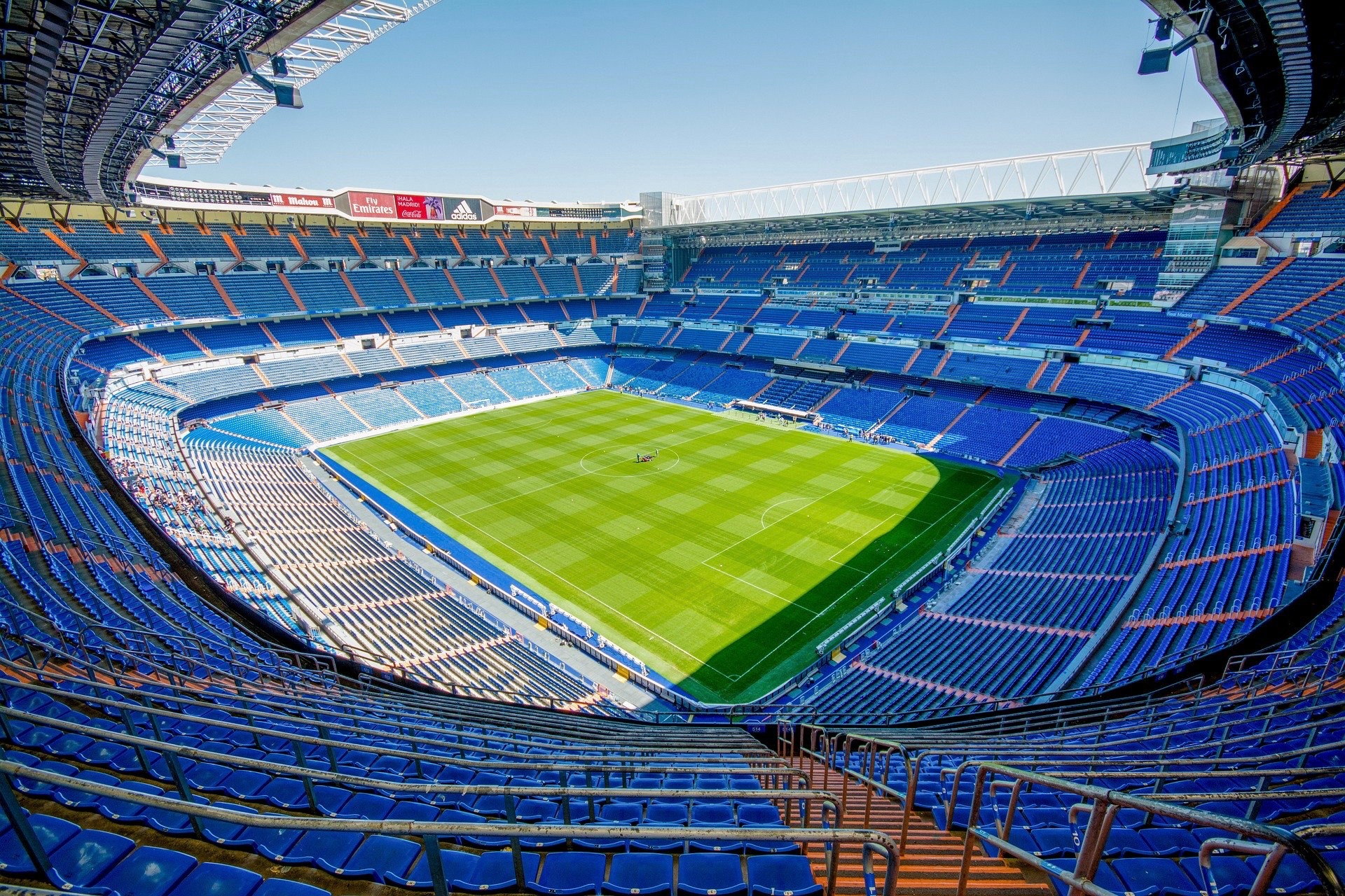 Estadio Bernabéu in Madrid