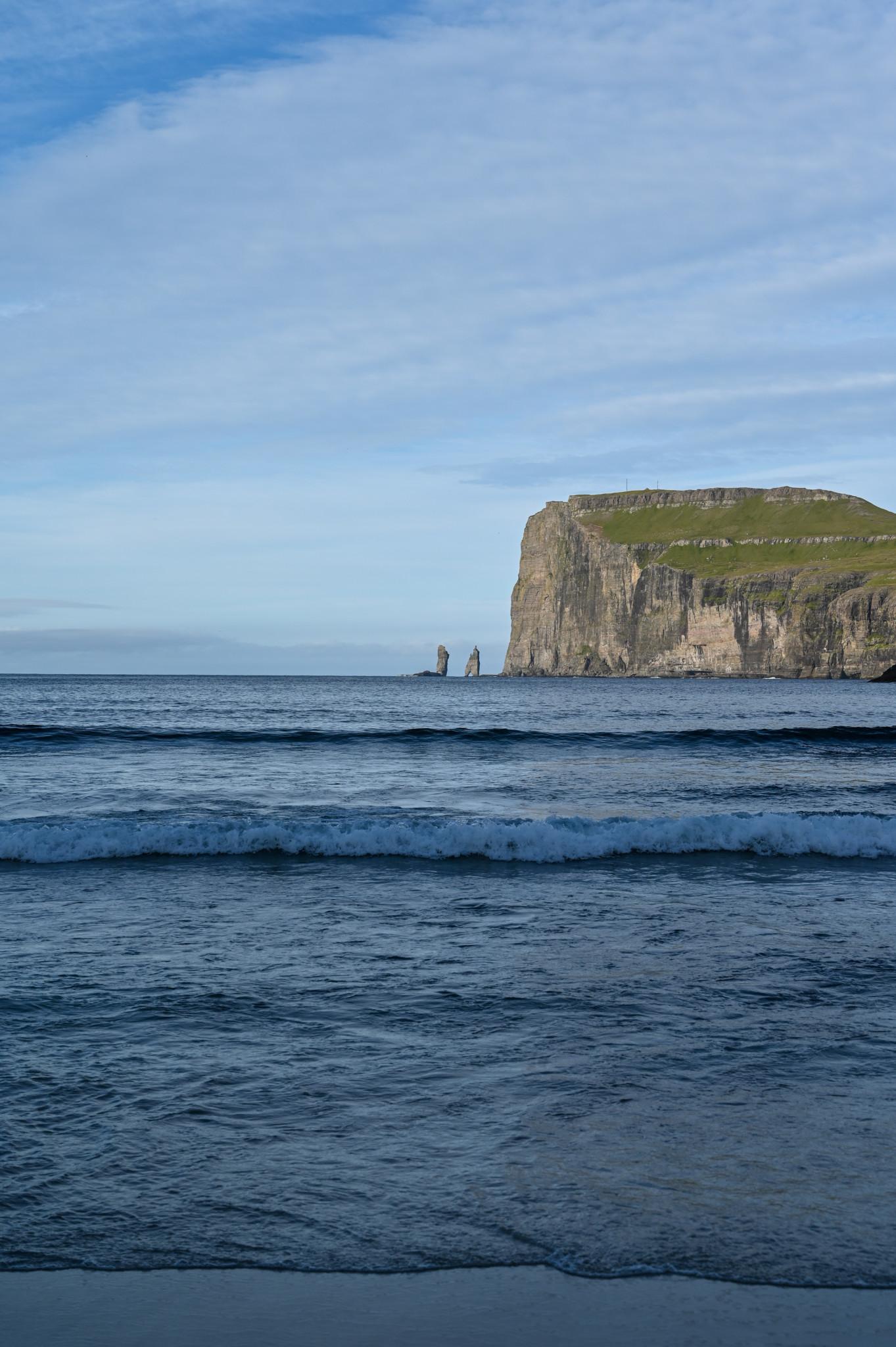 Strand von Tjørnuvik auf der Insel Streymoy