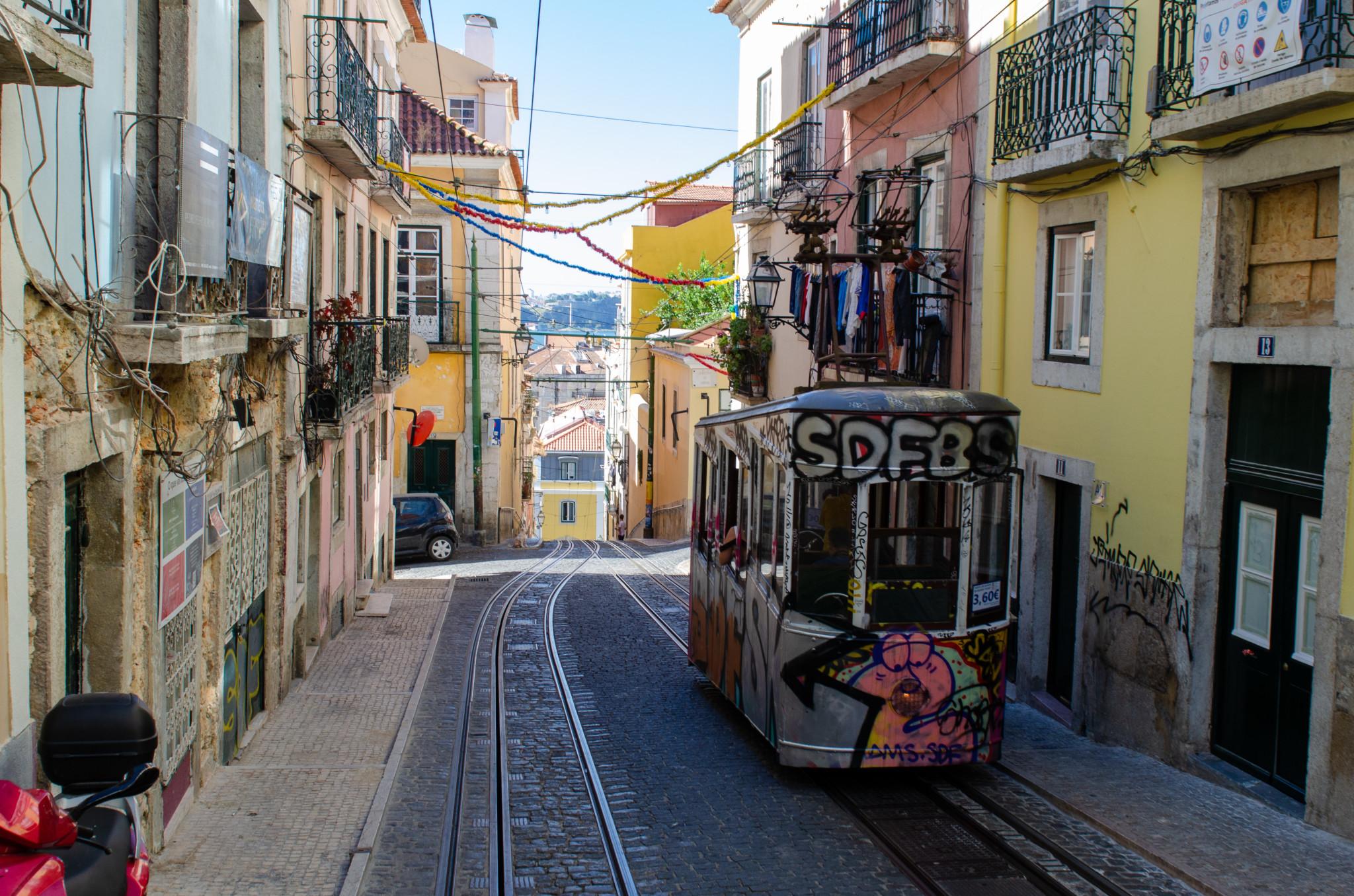 Strassenbahnen sind Kult in Lissabon