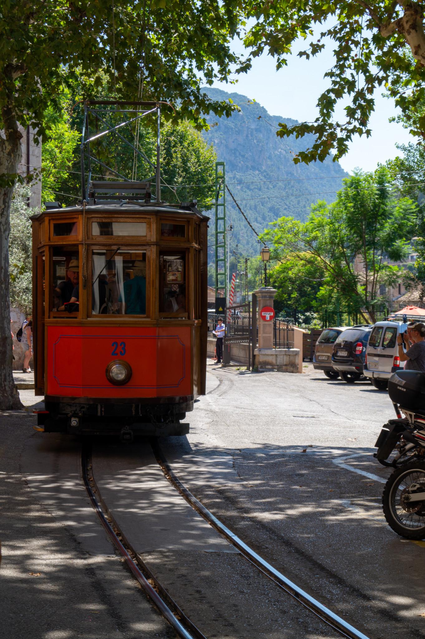 Straßenbahn von Sollèr