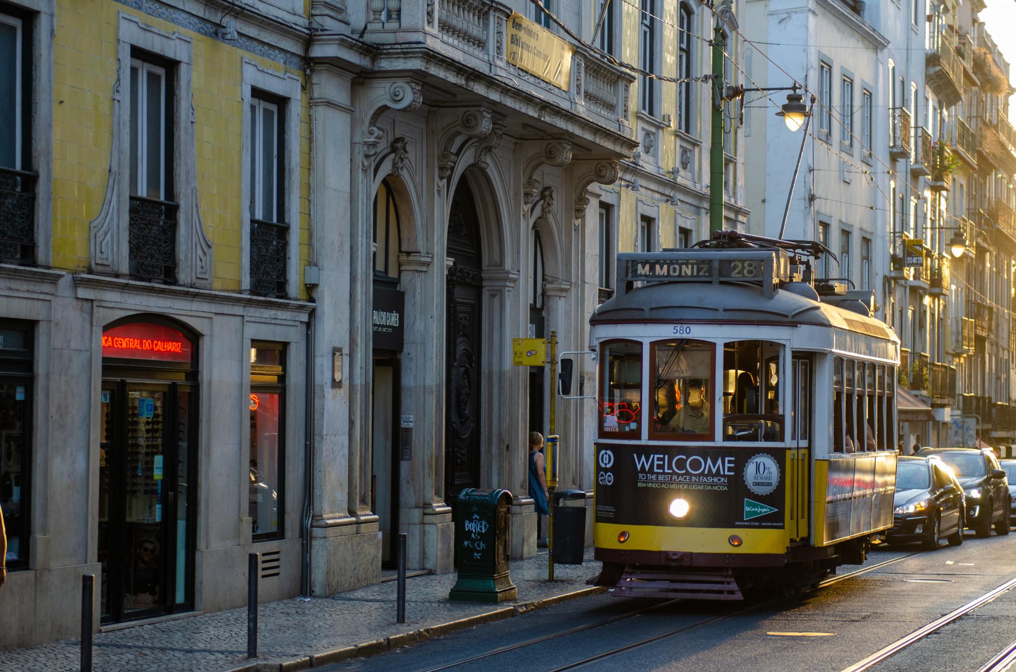 Tram 28 verbindet alle Lissabon Sehenswürdigkeiten miteinander