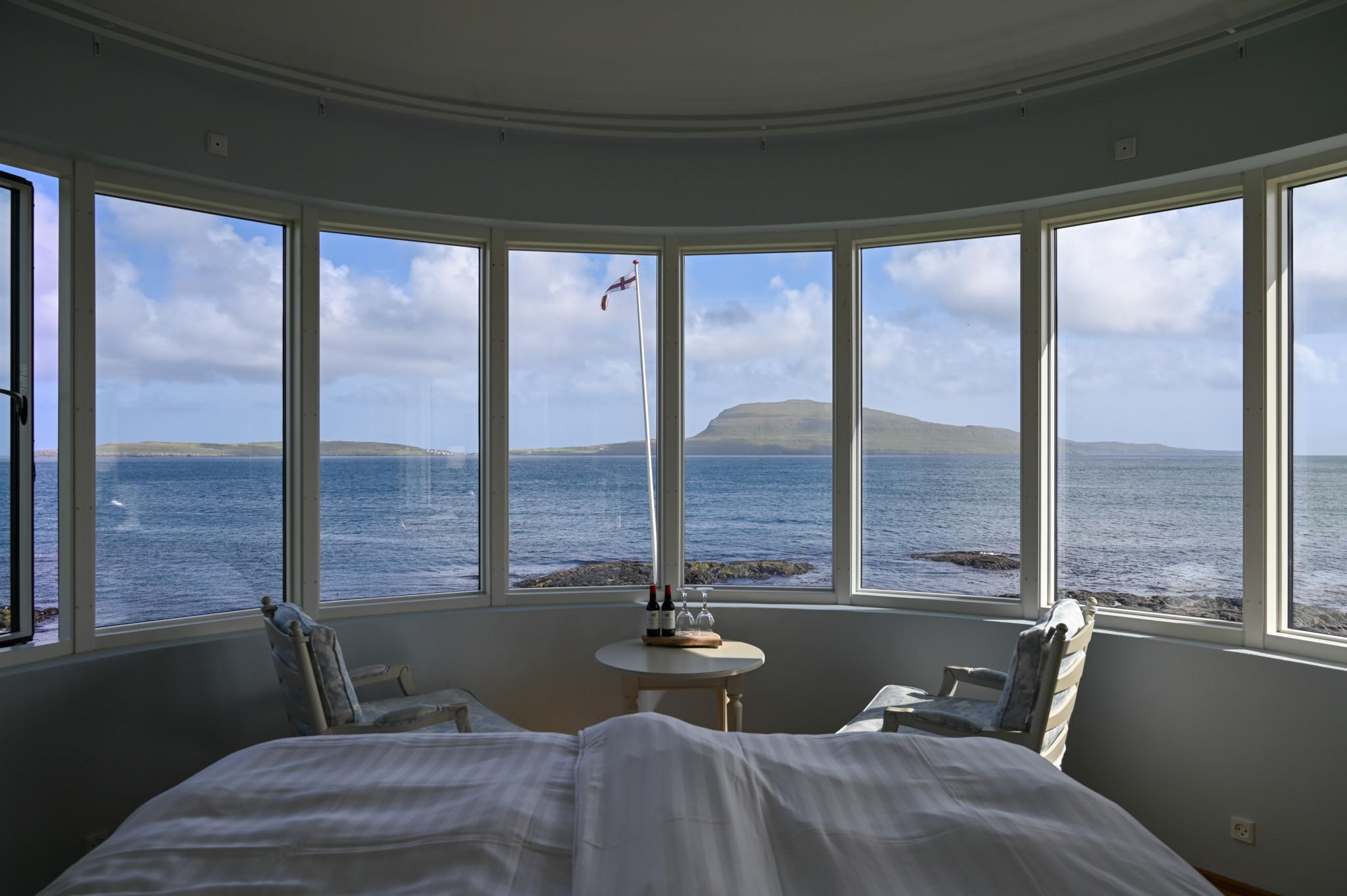 Ausblick vom Hotel Havgrim in Tórshavn