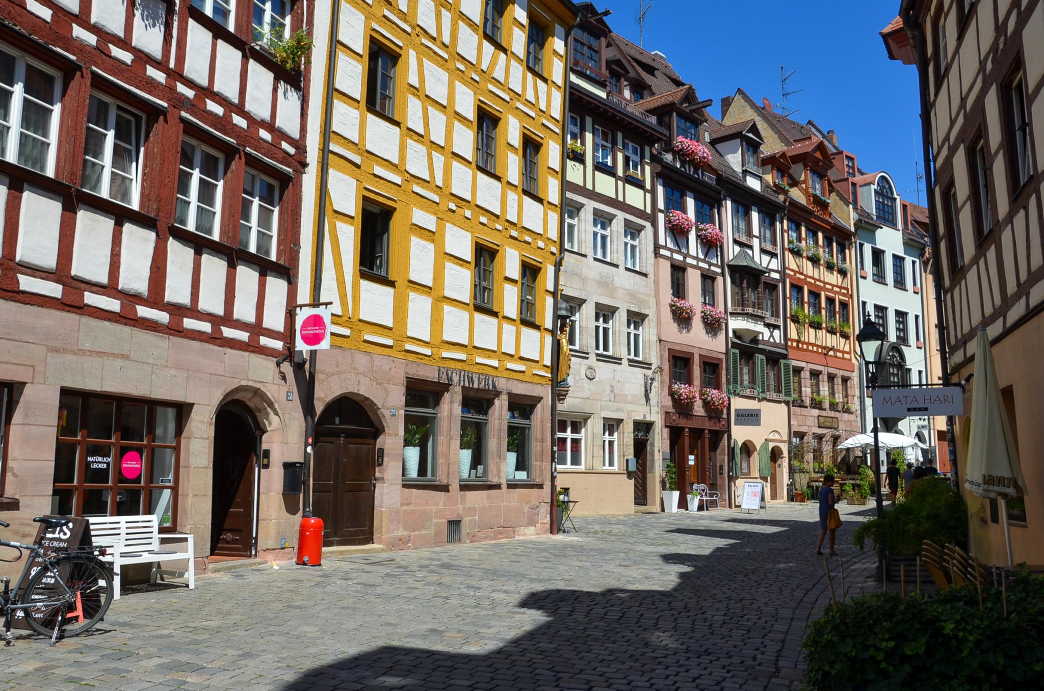 Einer der besten Nürnberg Empfehlungen ist die Weißbergergasse