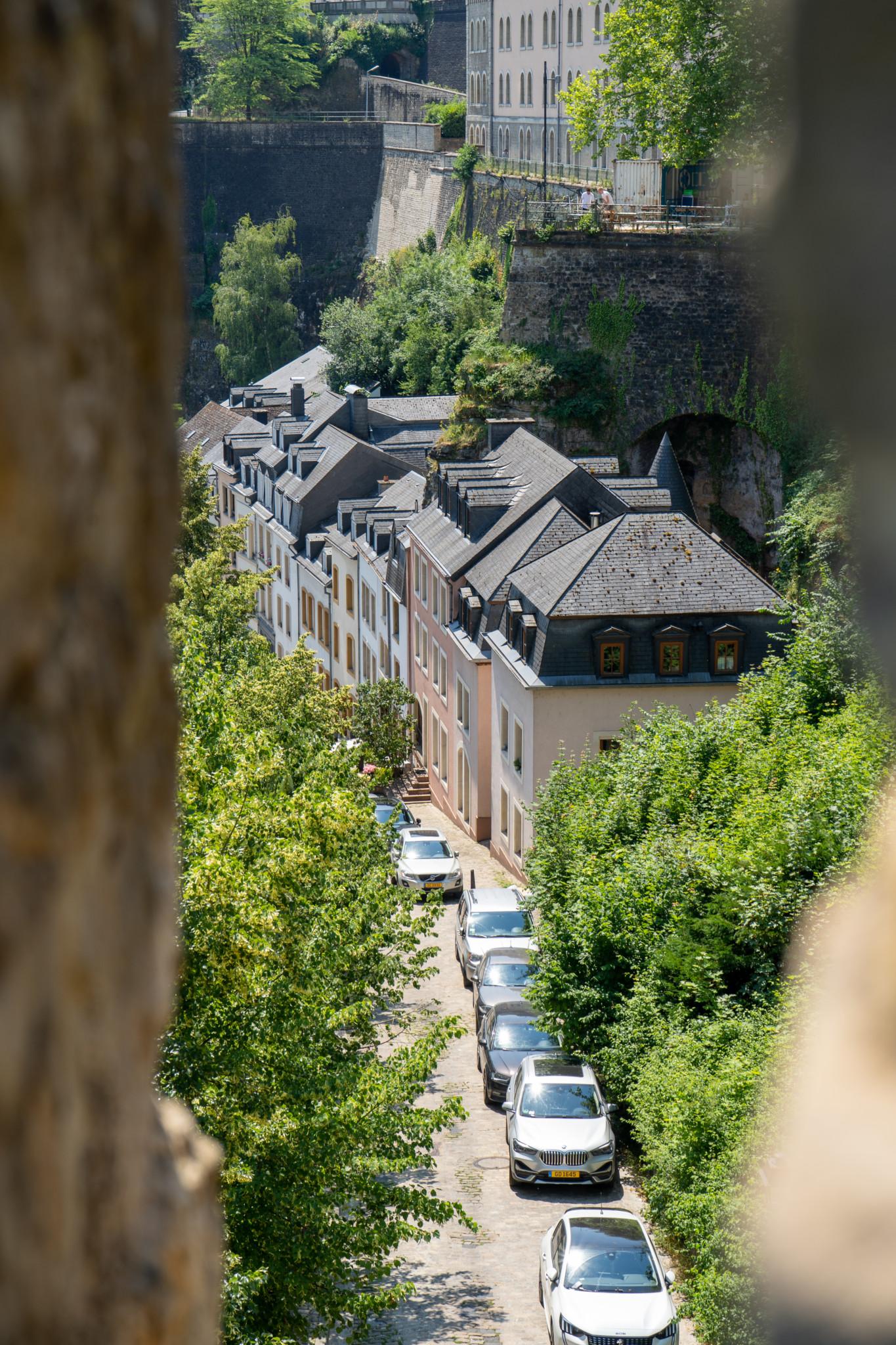 Panorama von Luxemburg Stadt