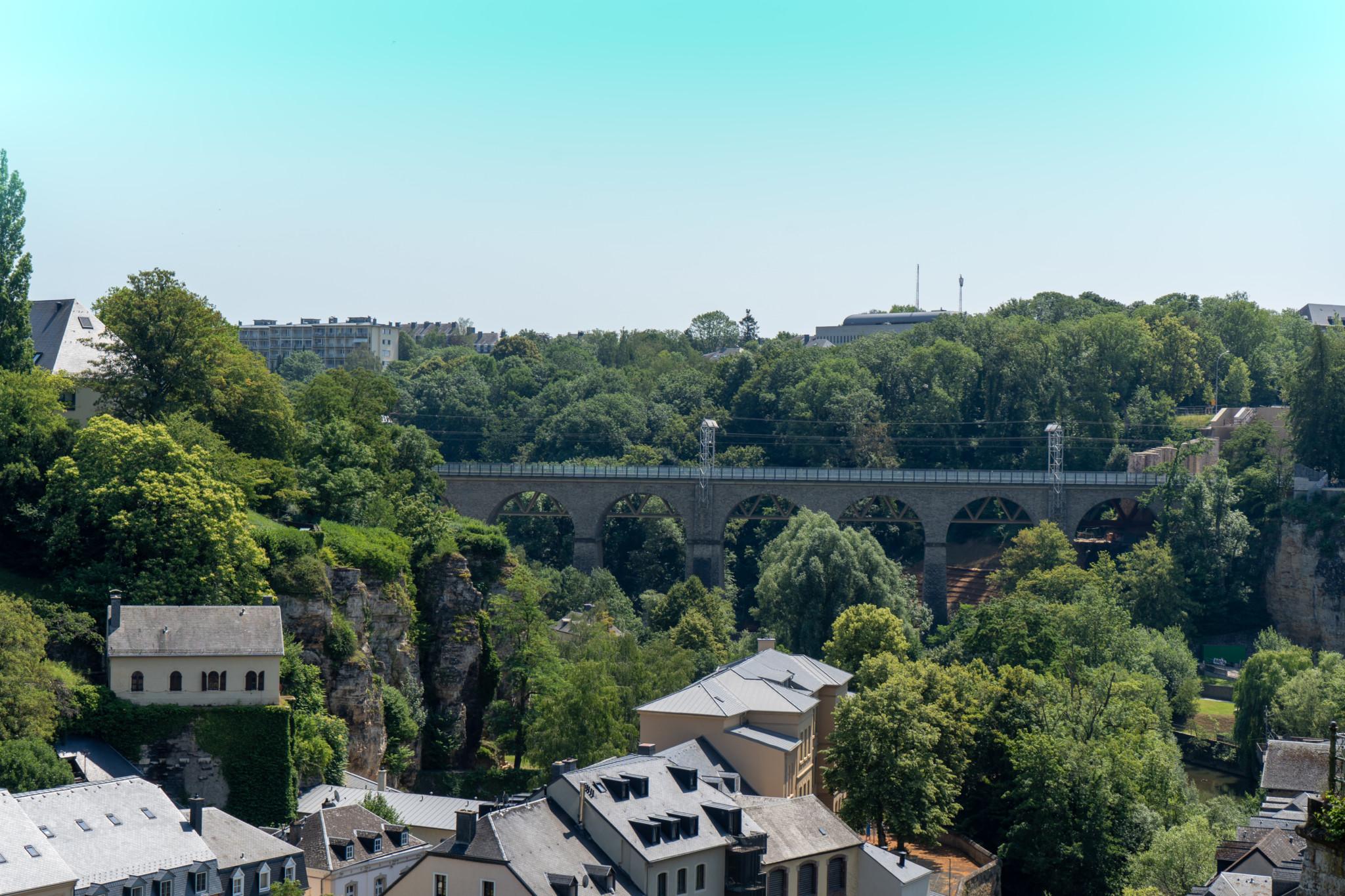 Adolphe Brücke in Luxemburg