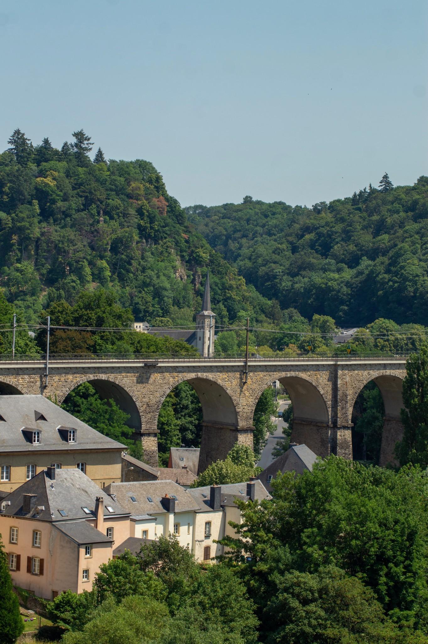Die Brücken von Luxemburg Stadt