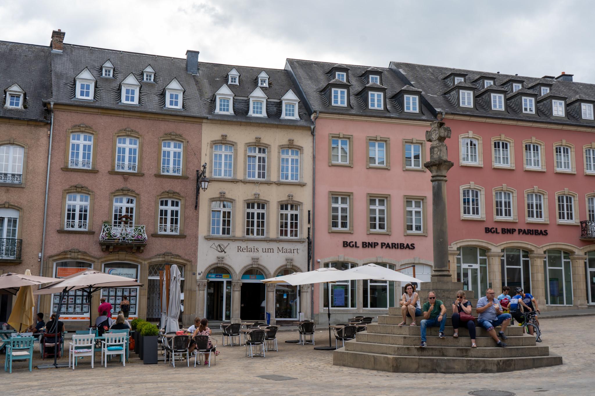 Hausfassaden von Echternach