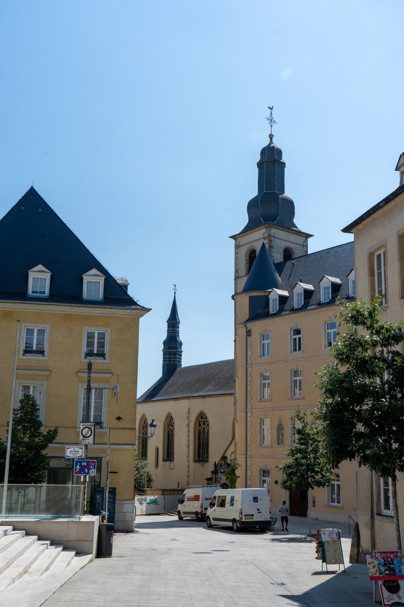 Der Fischmarkt in Luxemburg Stadt