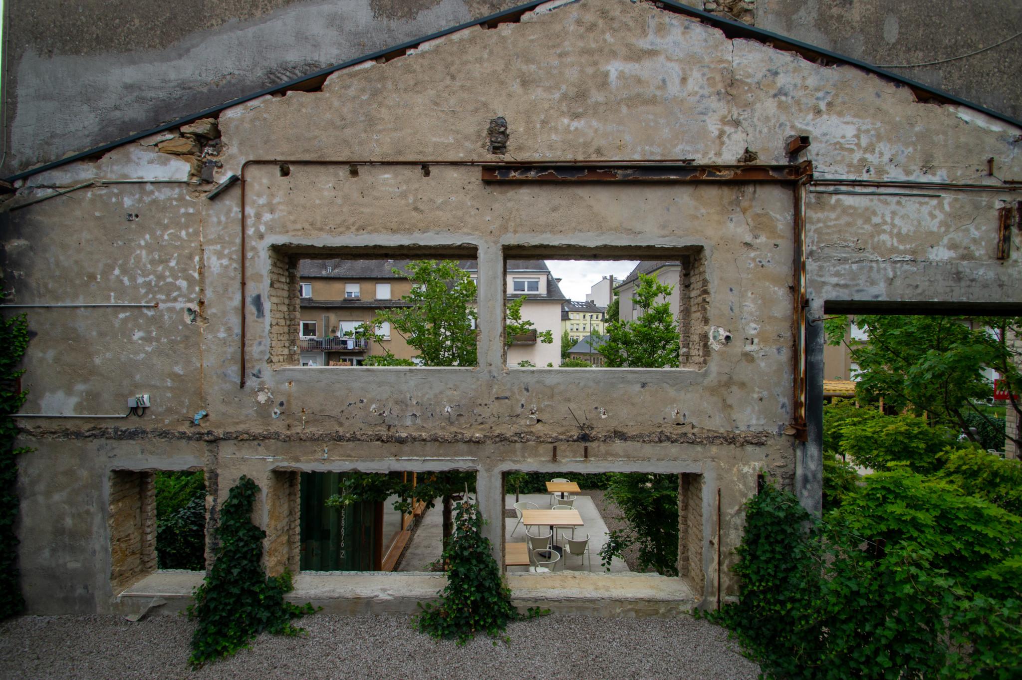 Industrielook im Graace Hotel Luxemburg