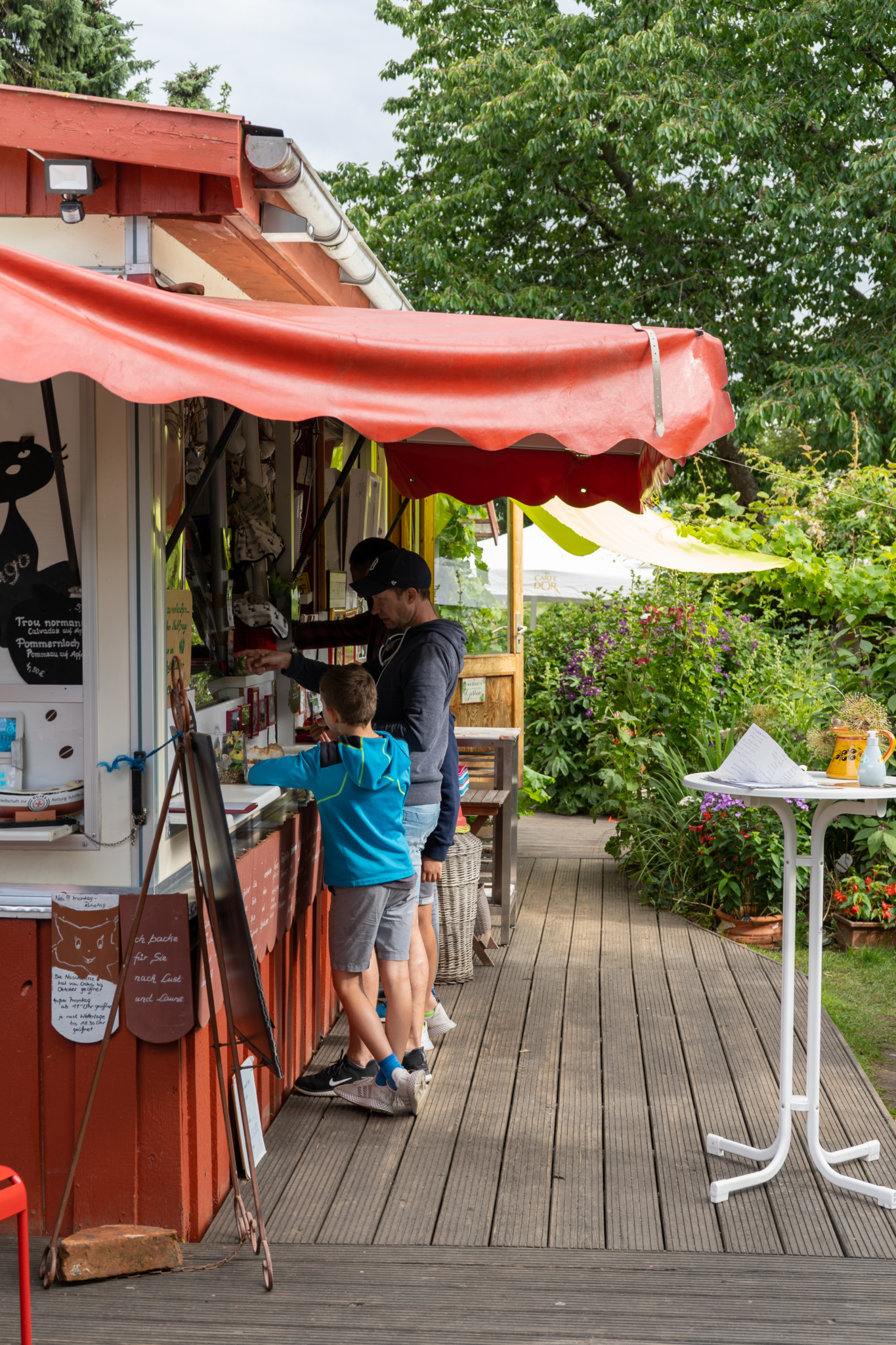 Café Naschkatze auf Usedom
