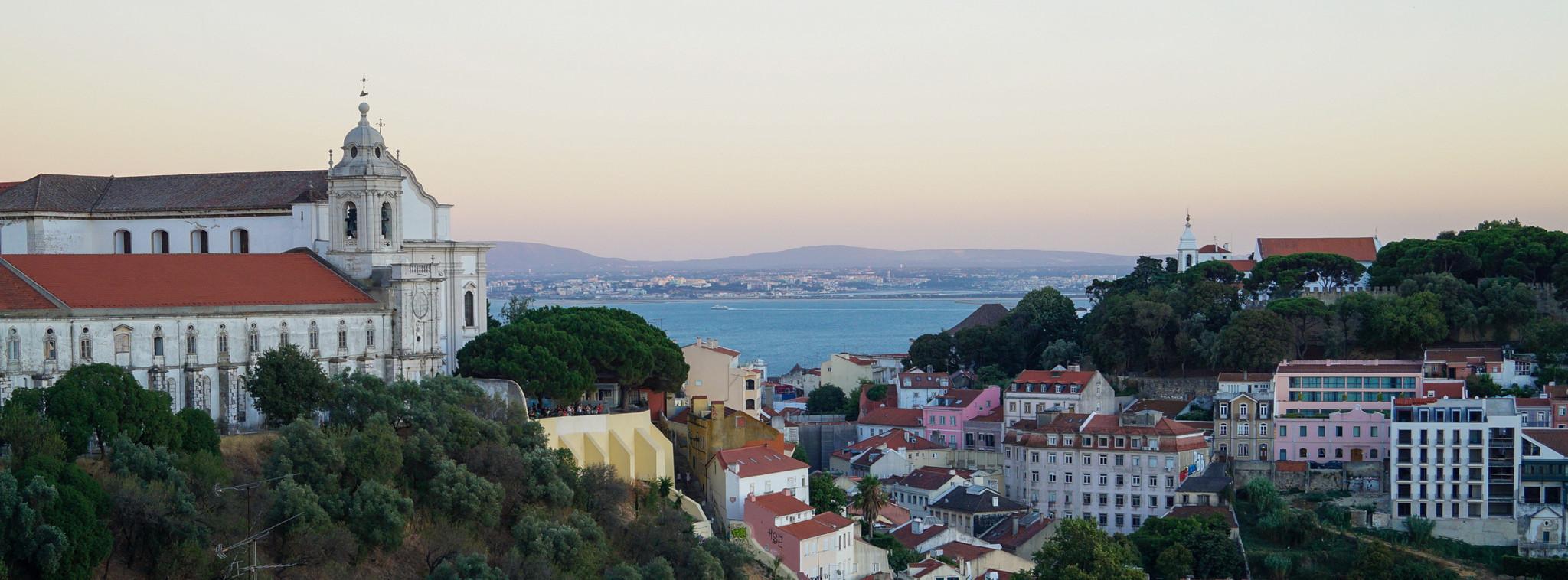 Miradouro in Lissabon